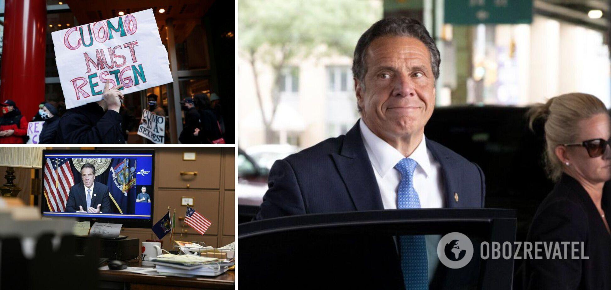 Губернатор Нью-Йорка Куомо оголосив про відставку після скандалу з сексуальними домаганнями