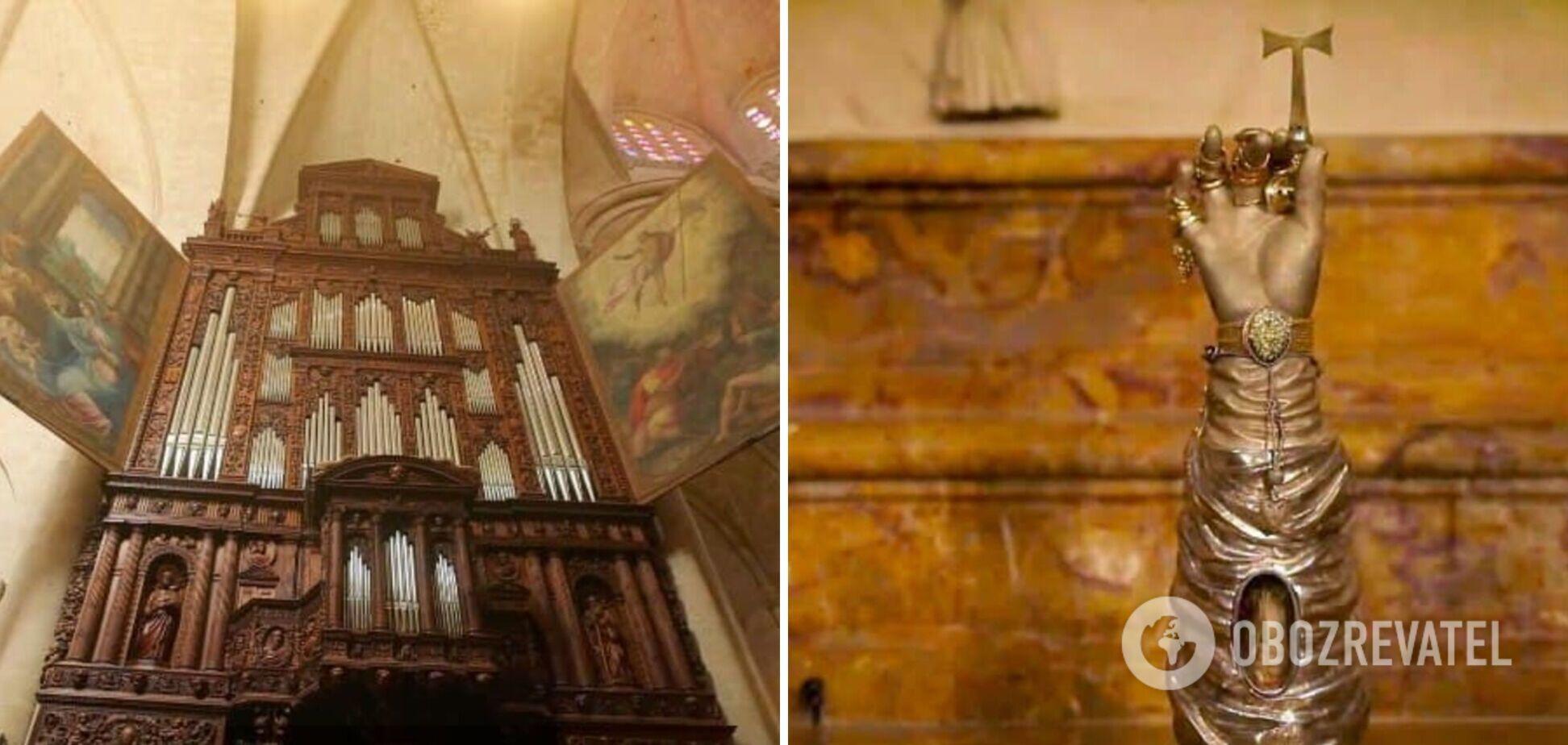 Мандрівник показав кафедральний собор Таррагони