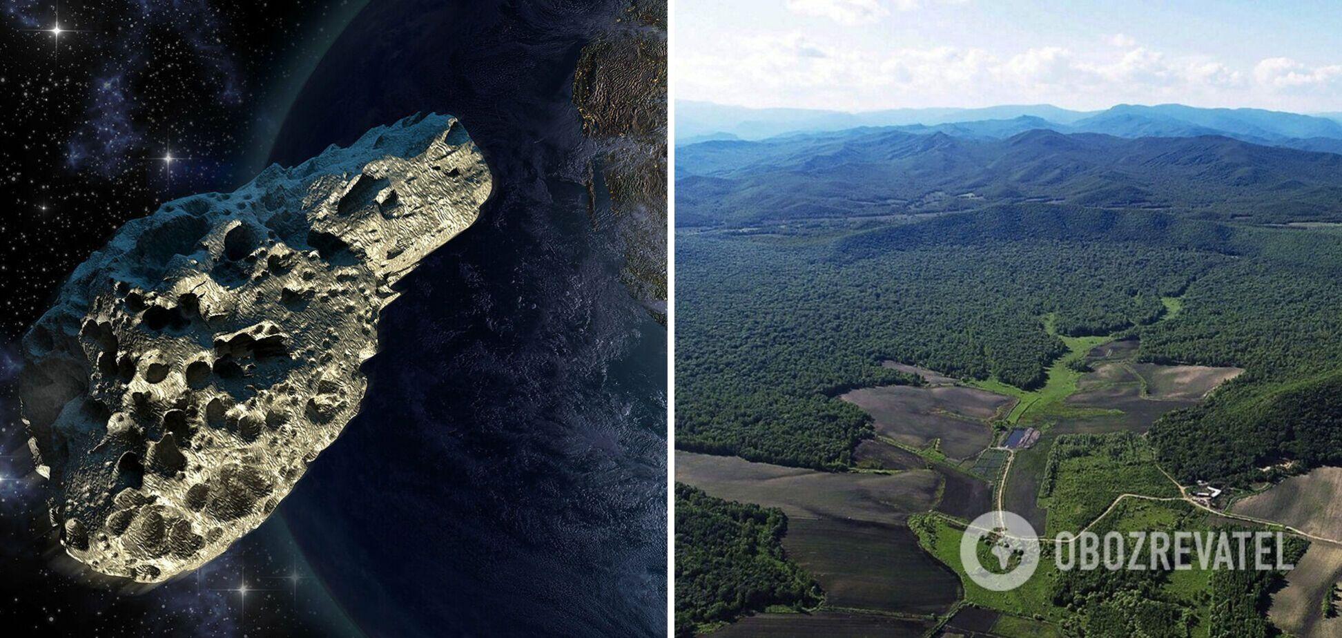 В Китаеобнаружен ударный кратер от самого мощного удара астероида на Земле