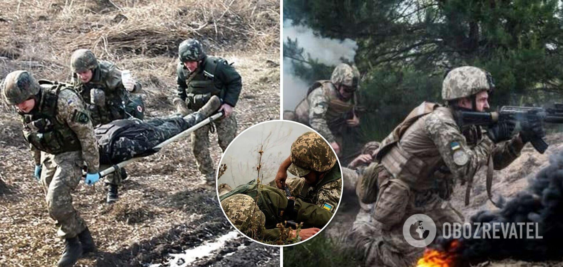 На Донбассе ранили военнослужащего ВСУ