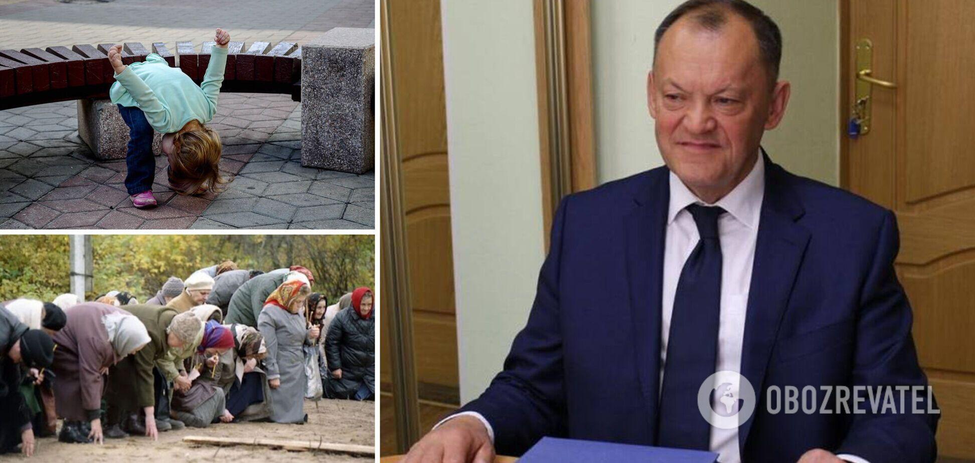В РФ депутат призвал россиян кланяться чиновникам: они 'от Бога'. Видео