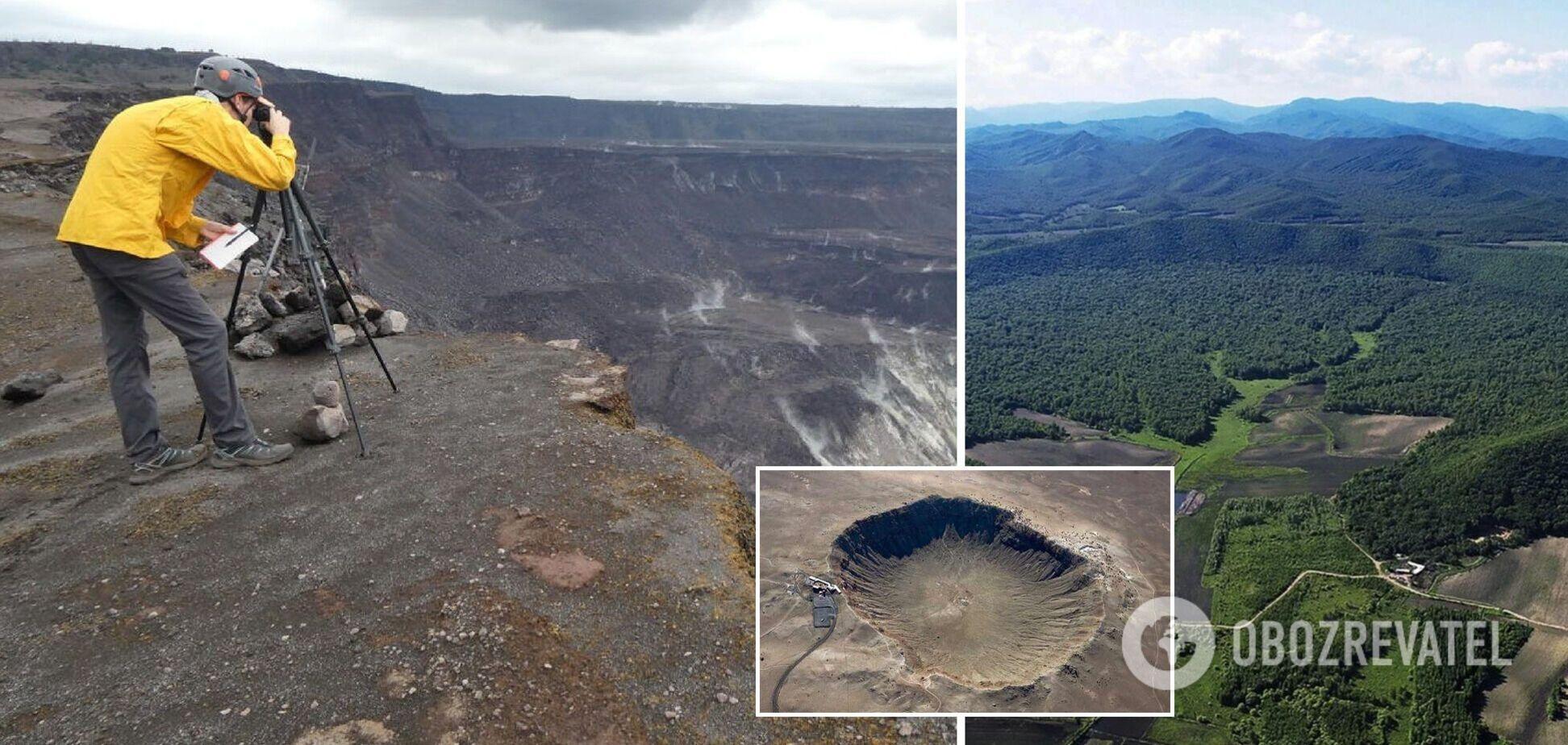 В Китае обнаружили кратер от стометрового астероида: его удар мог быть 'катастрофическим'. Фото