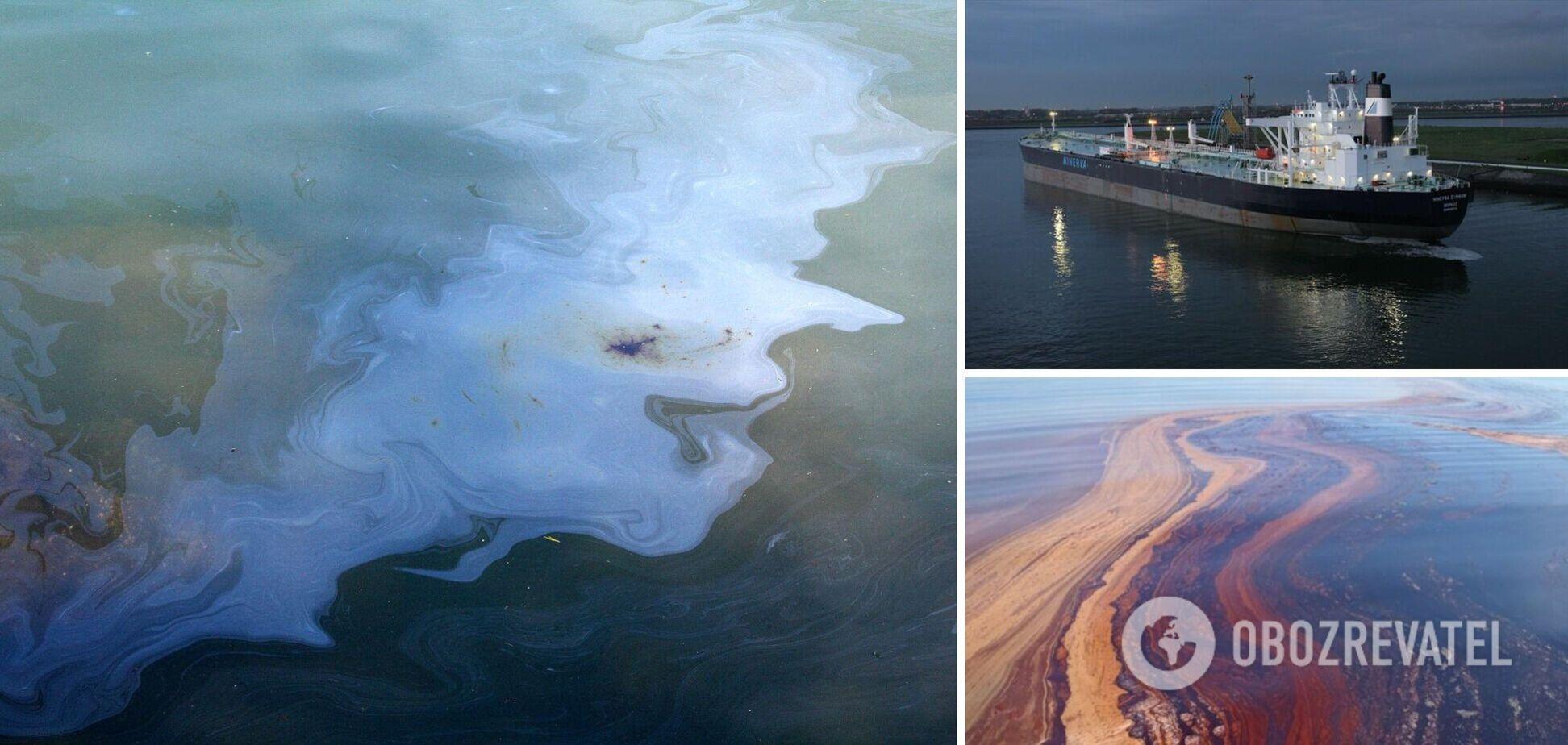 У Чорному морі трапився масштабний розлив нафти: вчені говорять про екокатастрофу