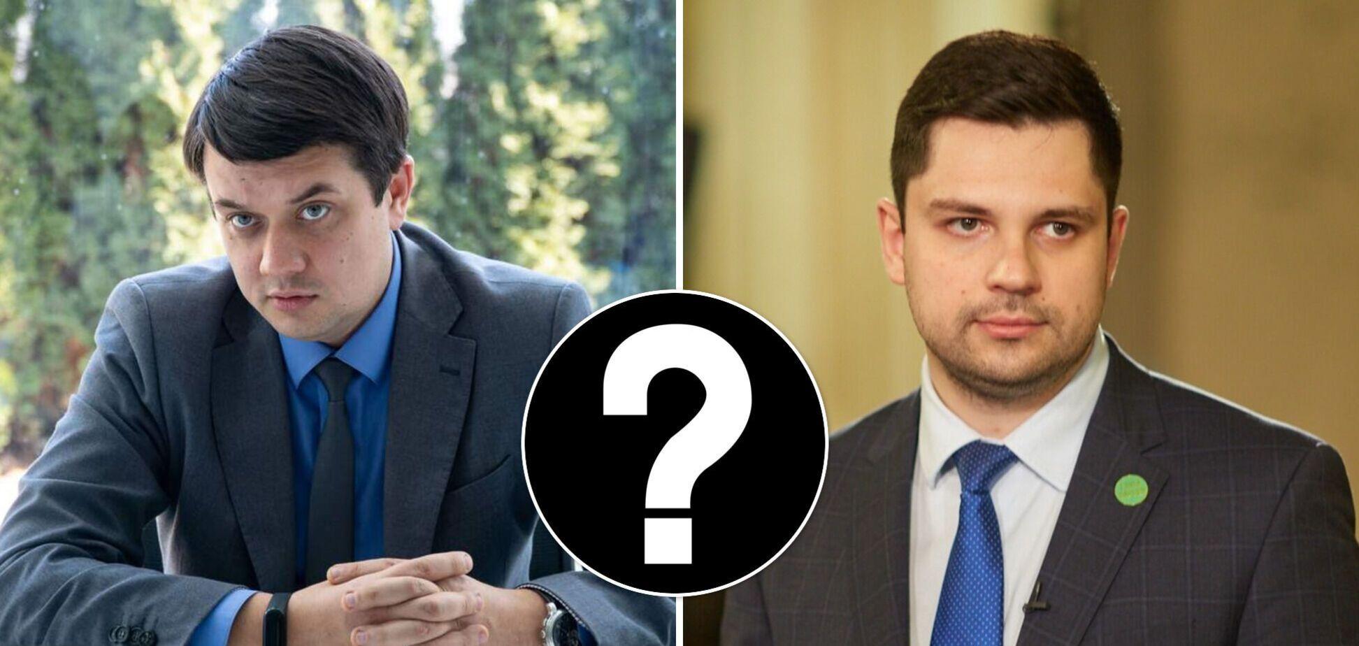 Попытка раскола: в 'Слуге народа' ответили на слухи вокруг отставки Разумкова