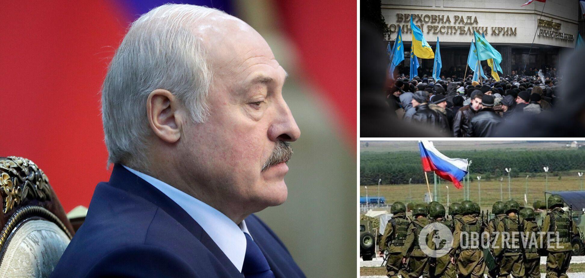 Останній 'окоп' Лукашенко. Чи визнає білоруський диктатор Крим російським?