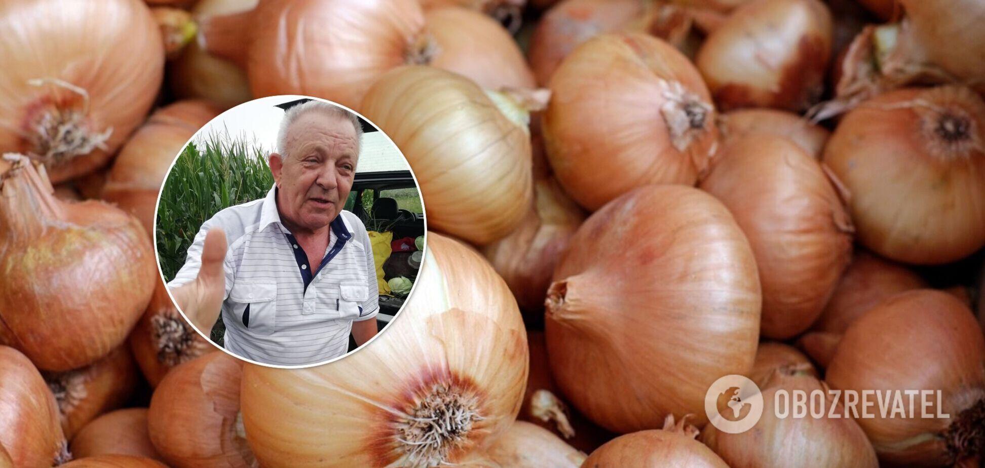 Колишнього мера Чорткова звинуватили в крадіжці цибулі і капусти з городу: він дав пояснення. Фото і відео