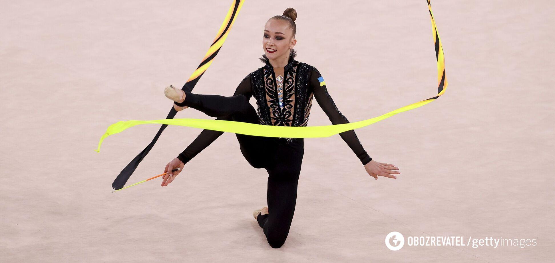 Українська гімнастка розповіла, чому важко досягати результатів на Олімпіаді без свого тренера