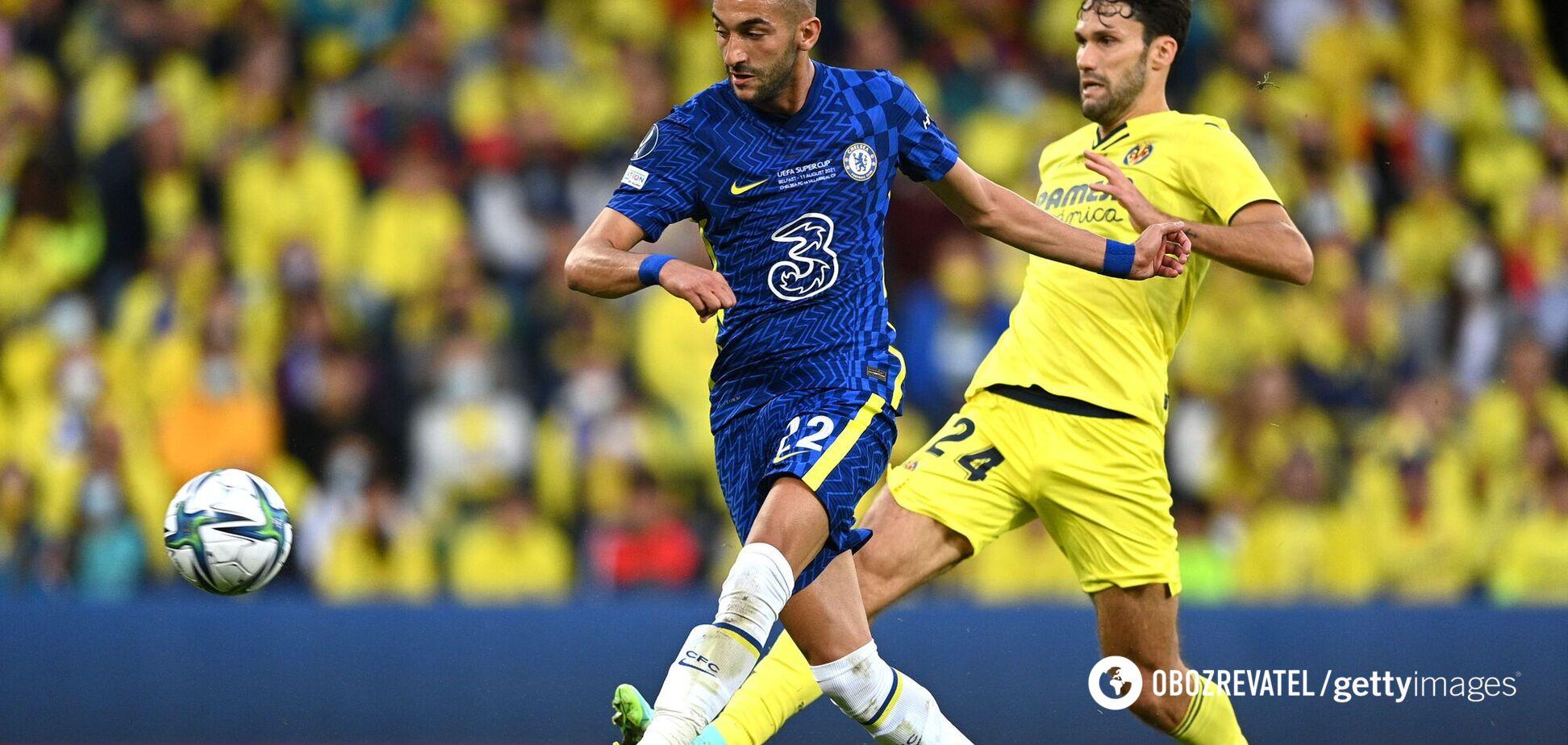 'Челсі' – 'Вільярреал': онлайн відео голів Суперкубку УЄФА