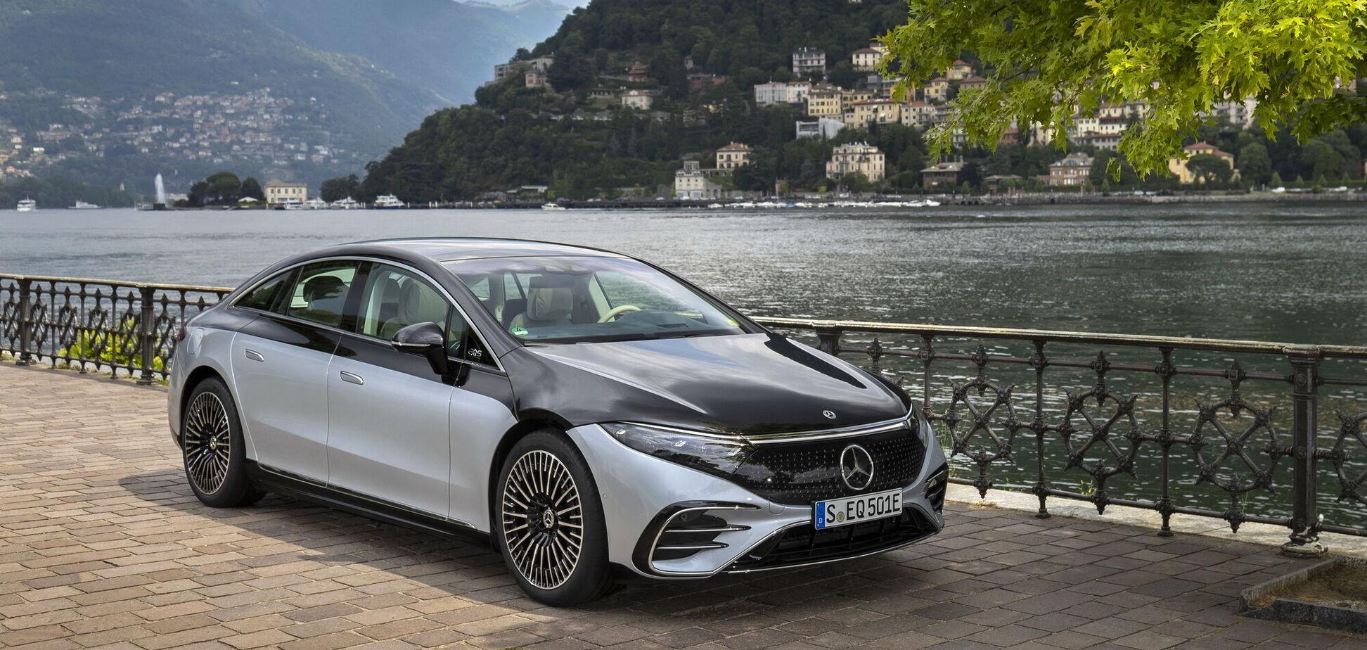 В Украине стартовали продажи электромобиля Mercedes-Benz EQS