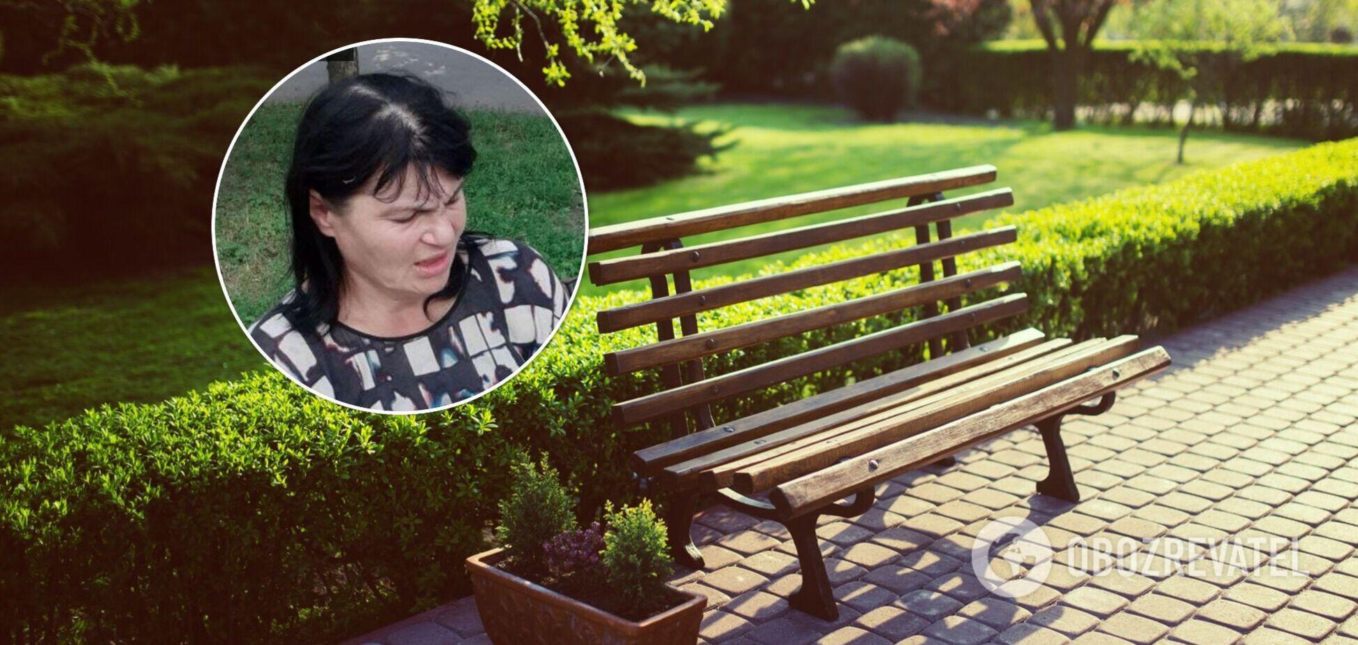 Жінка відзначилася неналежною поведінкою в парку