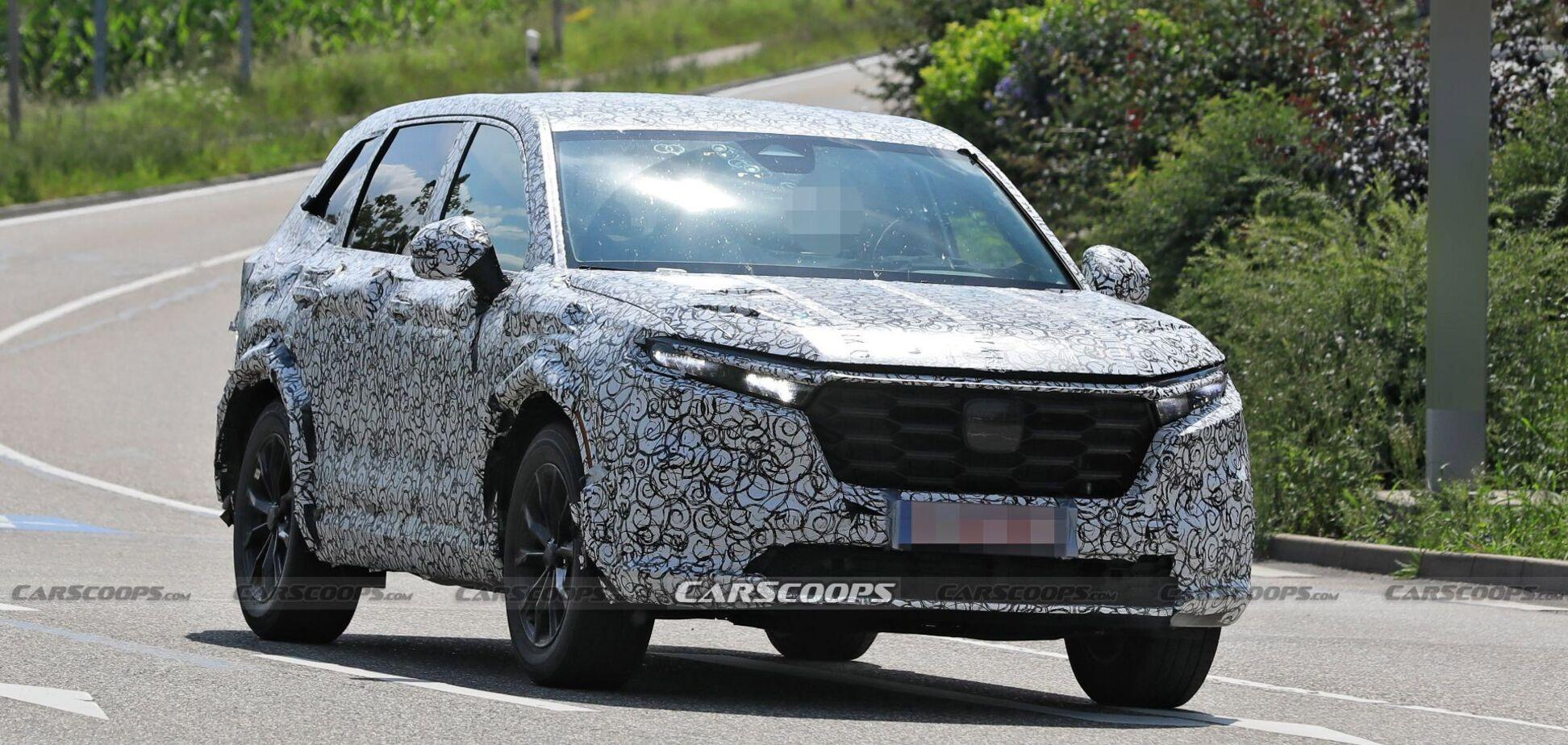 Прототип нового Honda CR-V заметили на тестах