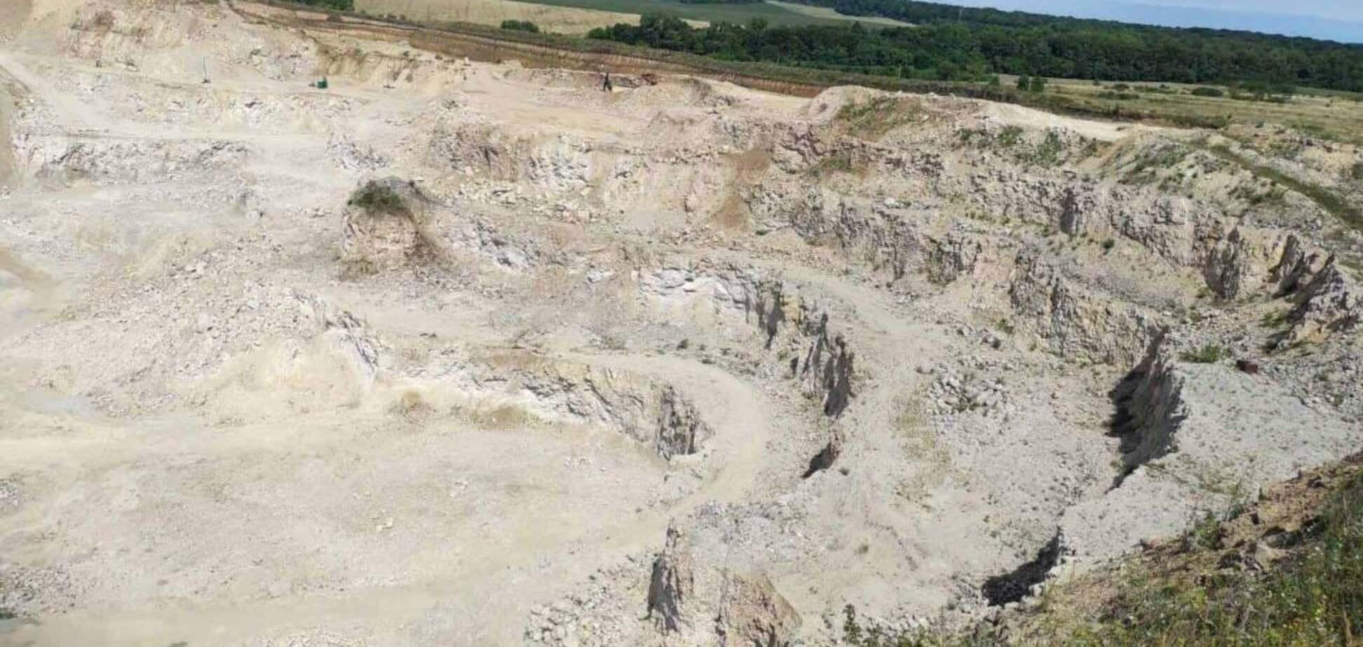 У Тернопільській області знищили унікальну пам'ятку, якій 5 мільйонів років. Фото