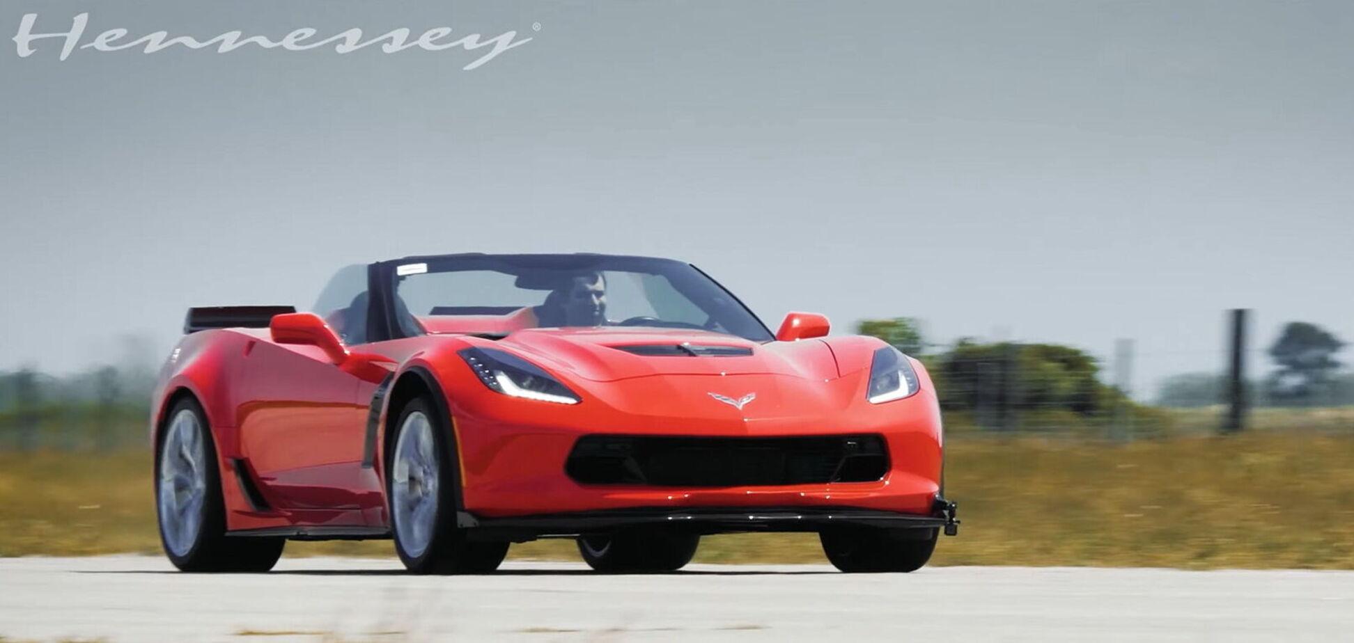 Hennessey Performance перетворив Corvette на справжнього монстра. Відео
