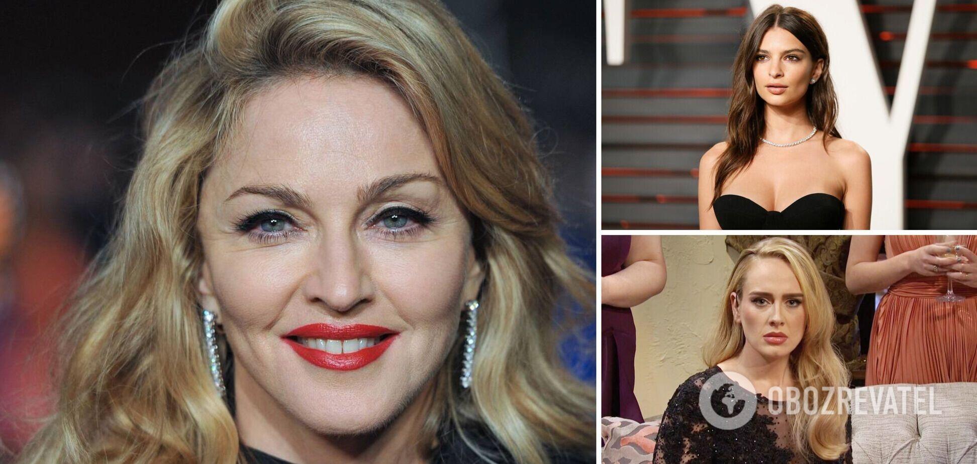 Мадонна, Адель, Ратаковски и другие: звезды Голливуда, отказавшиеся от интимной эпиляции. Фото