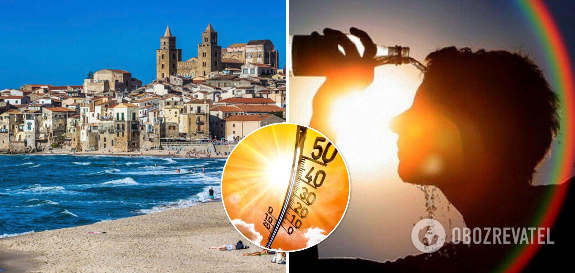 В Європі встановили абсолютний температурний рекорд за весь час спостережень