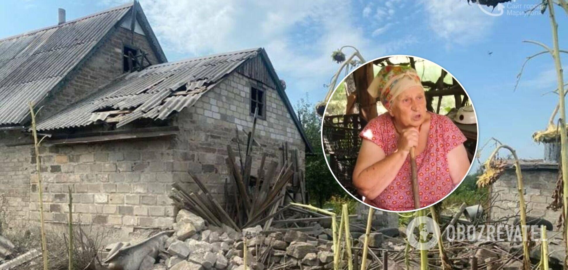 Пожилые супруги копали в огороде картофель, как вдруг начали падать снаряды