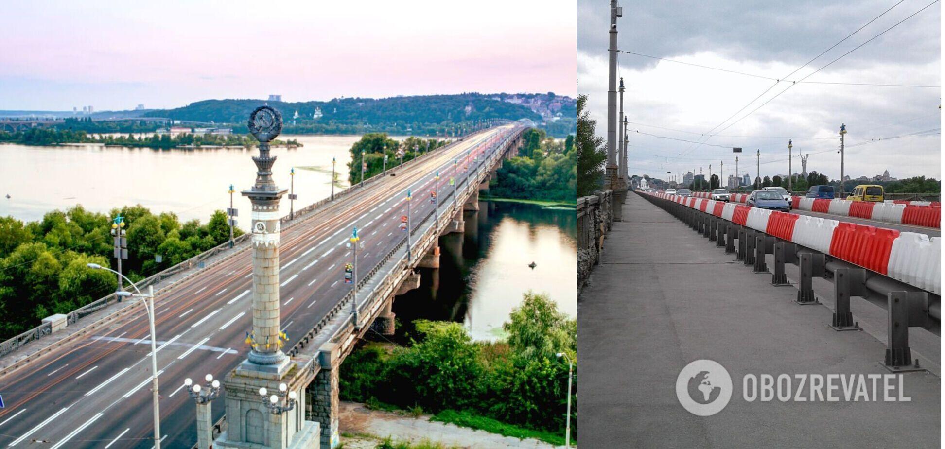 У КМДА повідомили, як зміниться міст Патона після реставрації