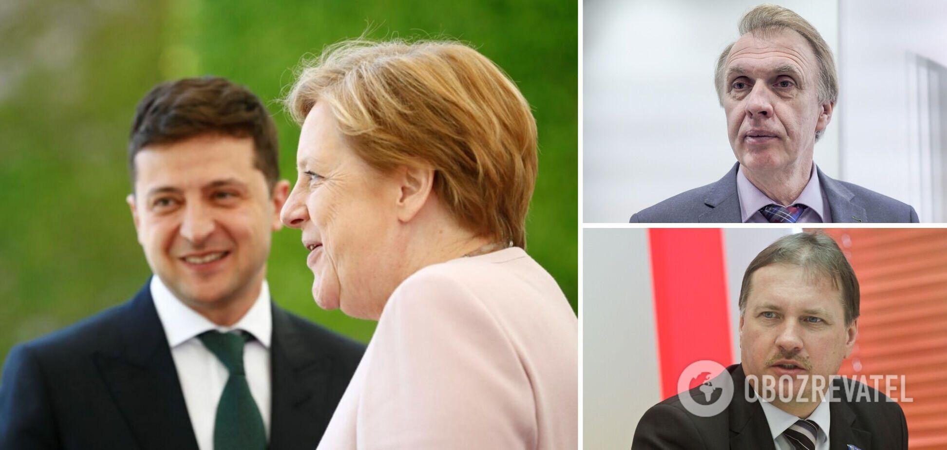 Меркель была инициатором встречи с Зеленским