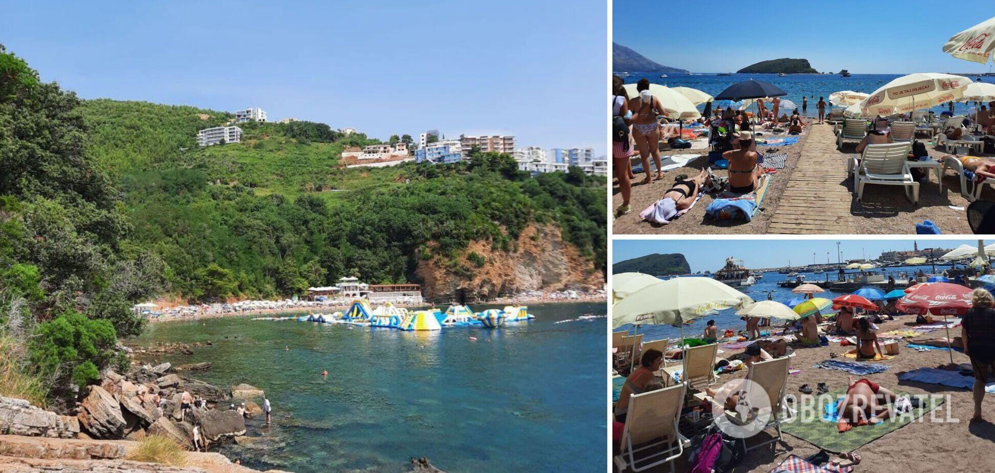 Ціни зросли, пляжі забиті туристами: що відбувається в Чорногорії. Ексклюзив