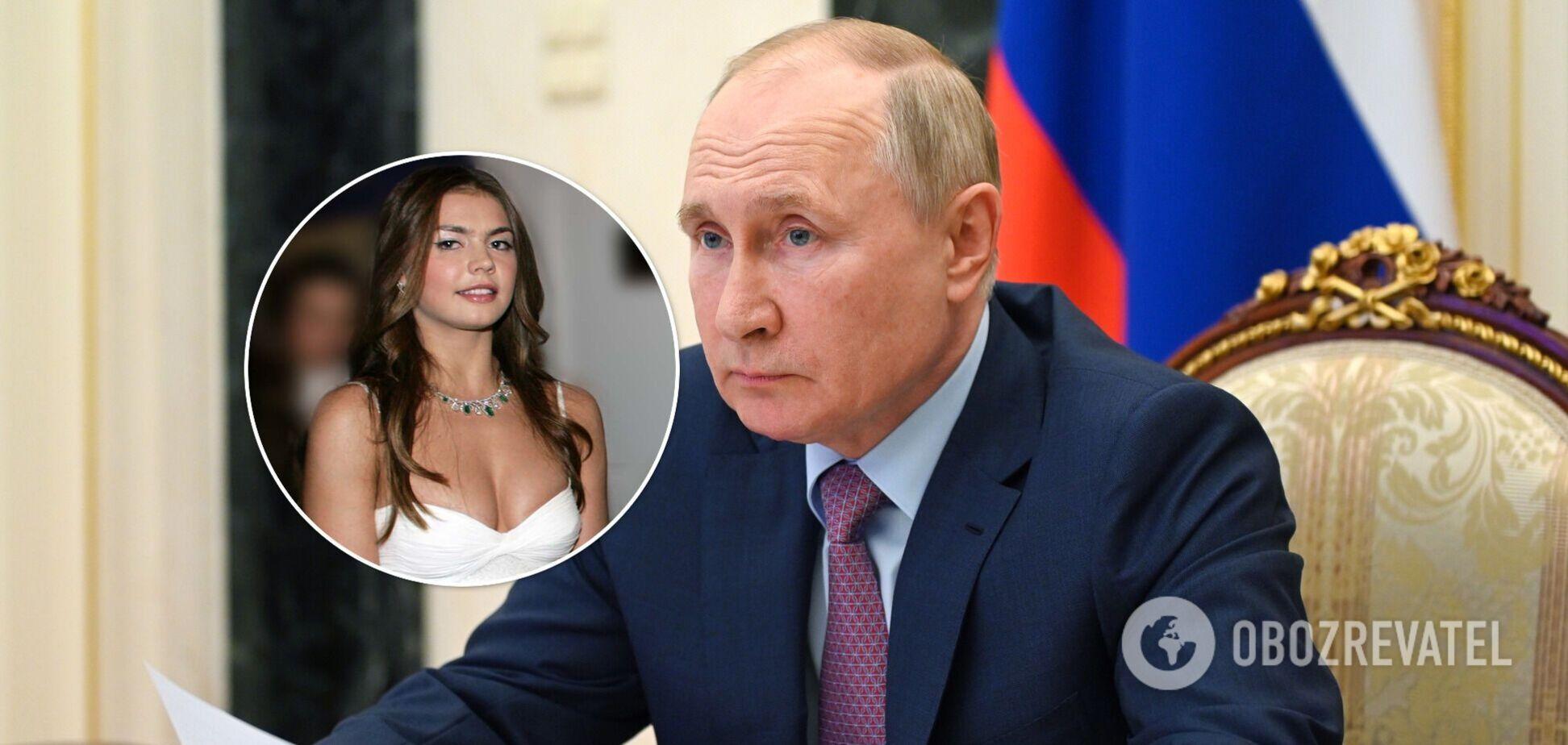 'Коханка' Путіна засвітилася в сукні за 90 тисяч гривень. Фото