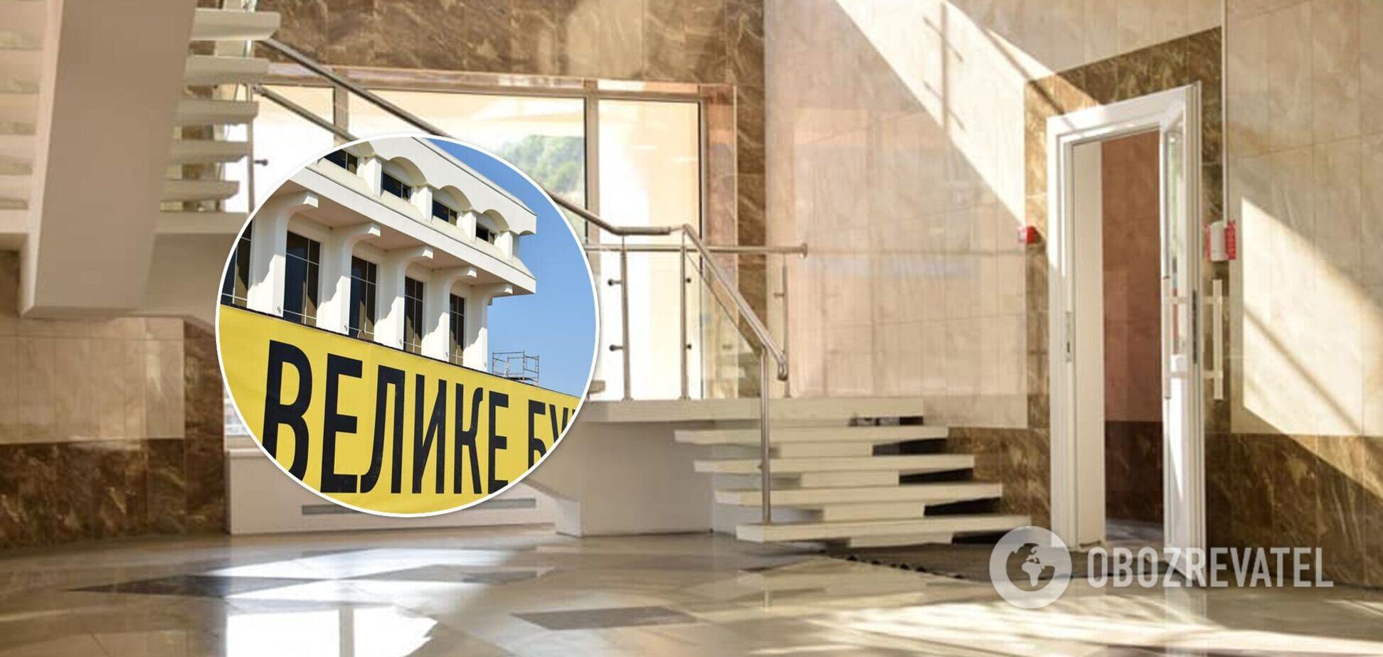 'Большая стройка': реконструкция Дома культуры в Каневе завершена на 97%