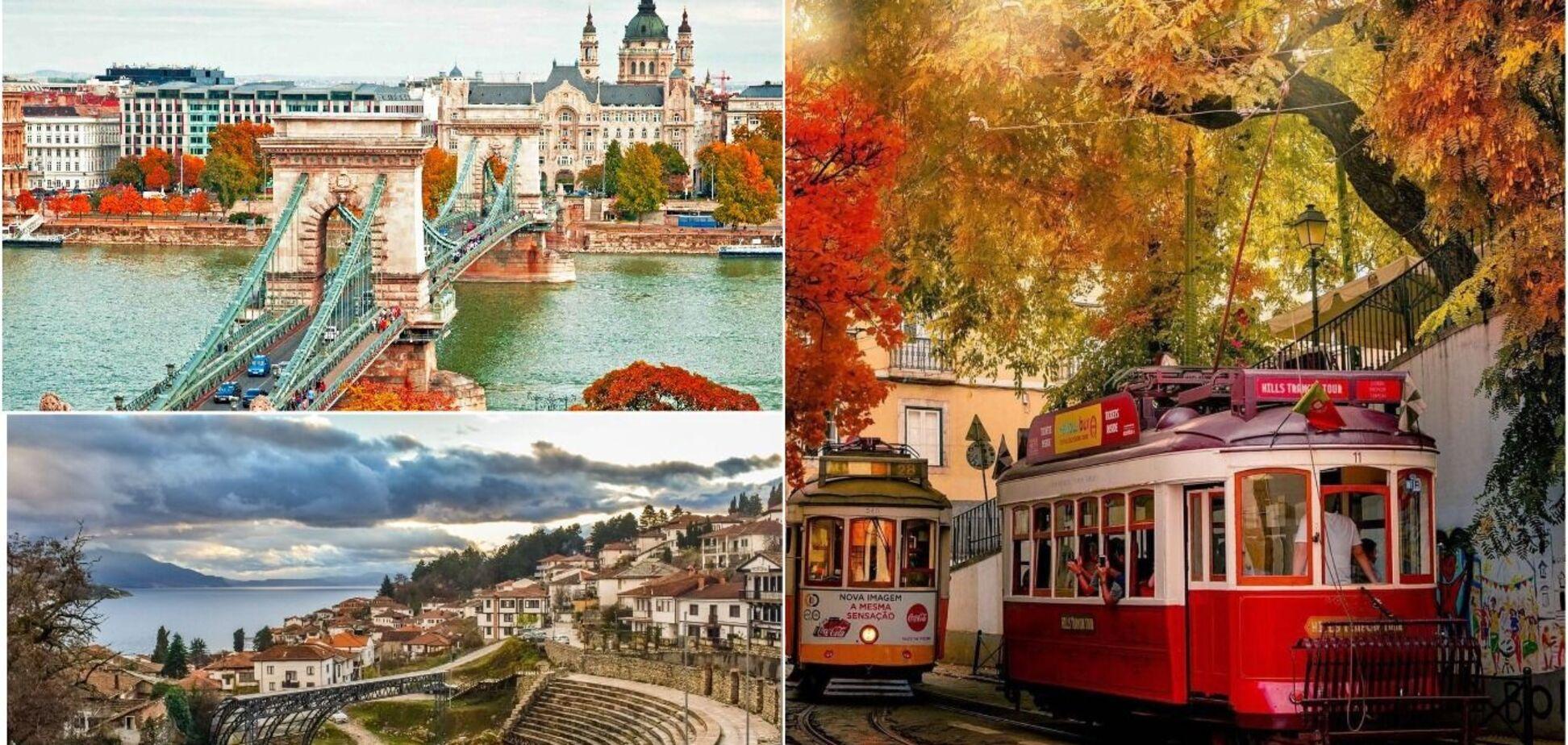 5 країн та міст Європи, куди варто поїхати цієї осені. Фото