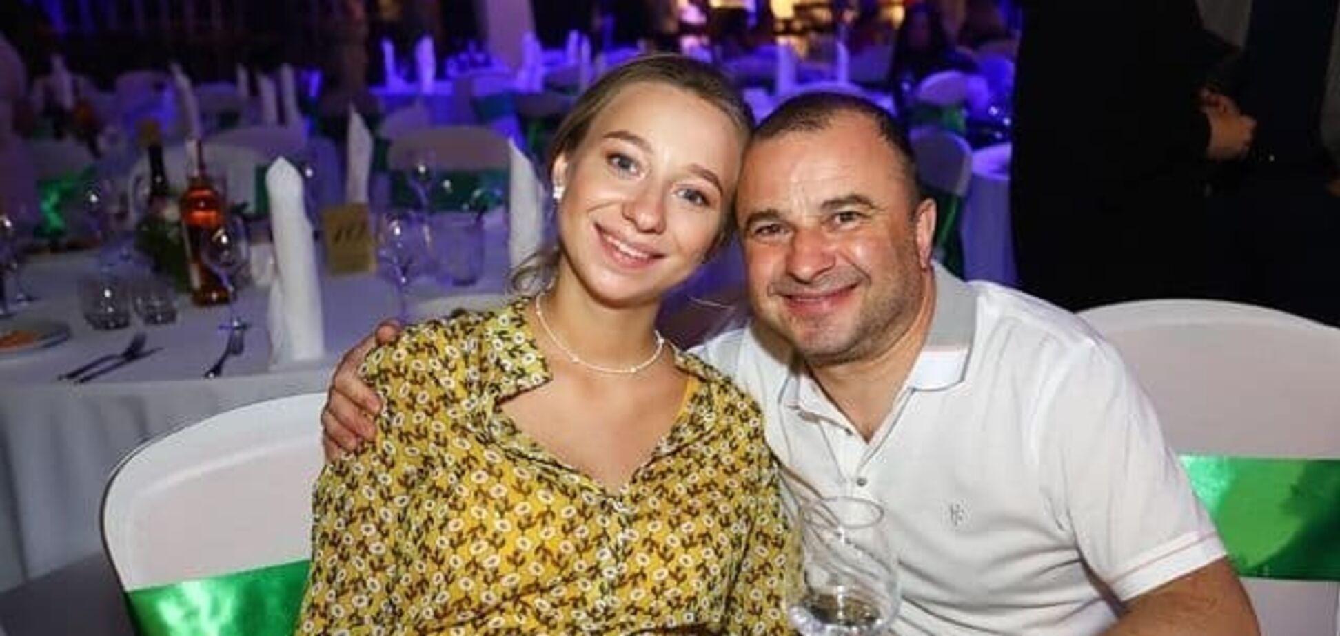 Віктор Павлік зі своєю дружиною Катериною