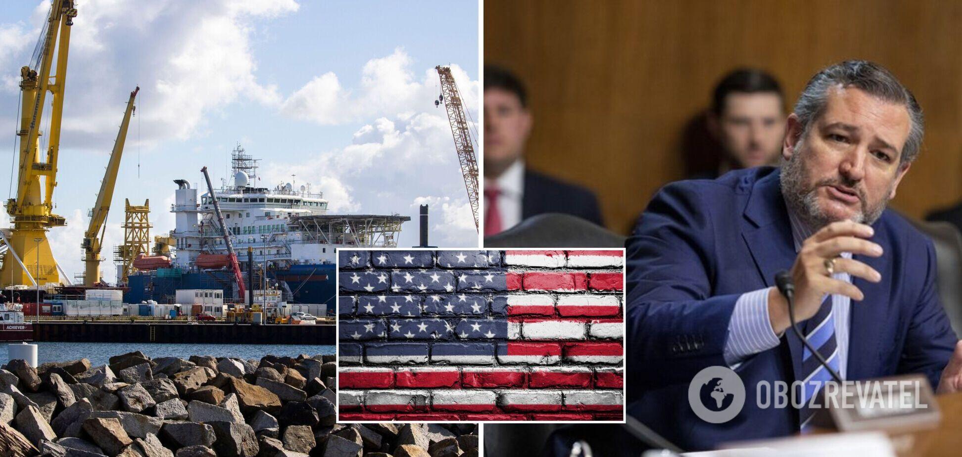 В США республиканцы заблокировали работу Сената из-за 'Северного потока-2'