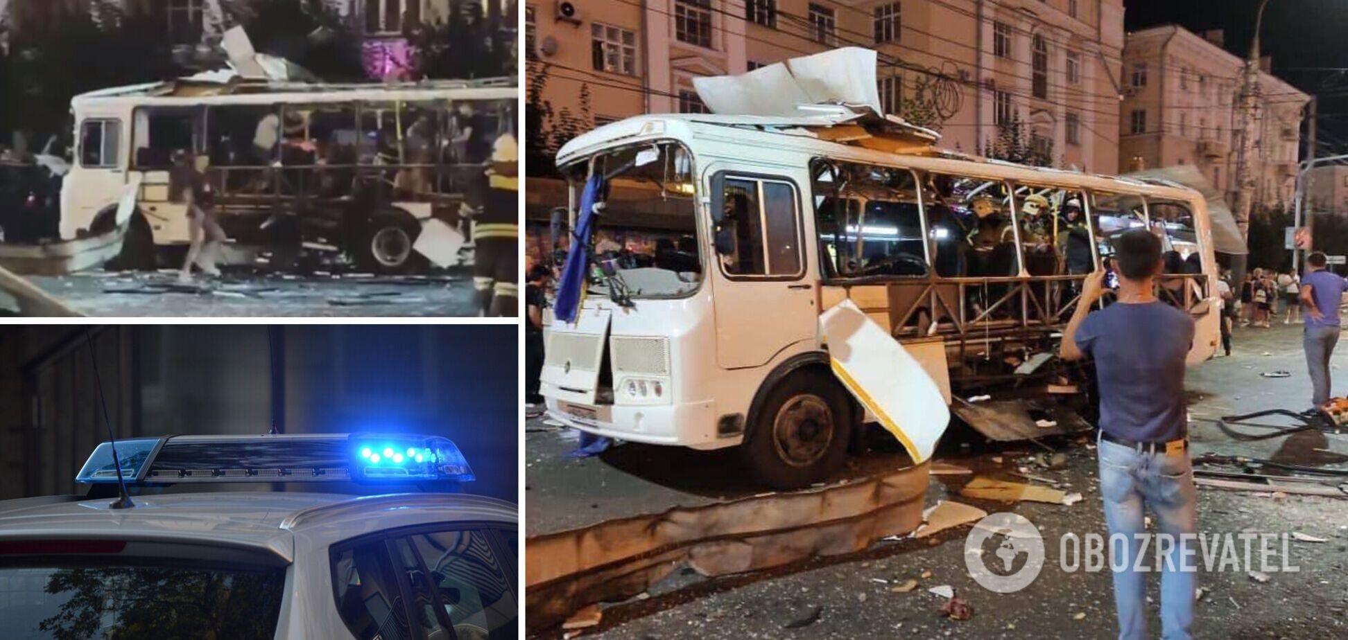В Воронеже произошло ЧП с автобусом