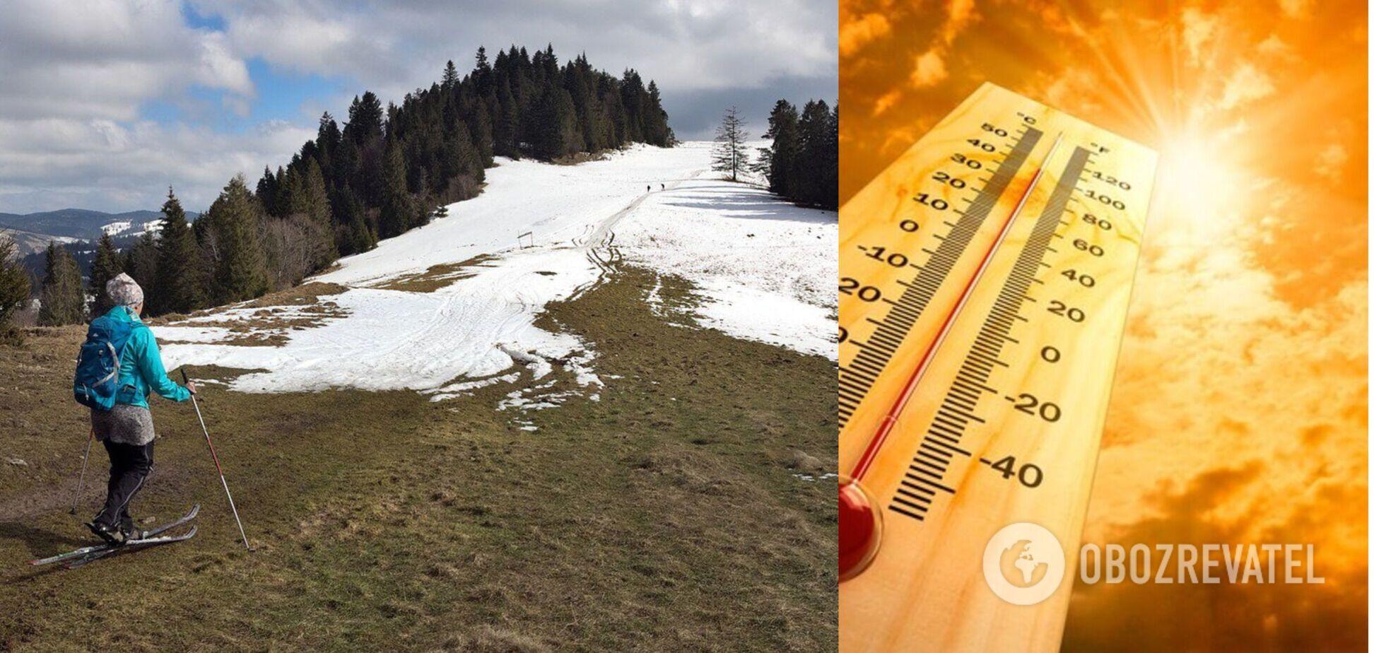 Буде ніде кататися на лижах: озвучено прогноз щодо змін клімату і наслідків для України