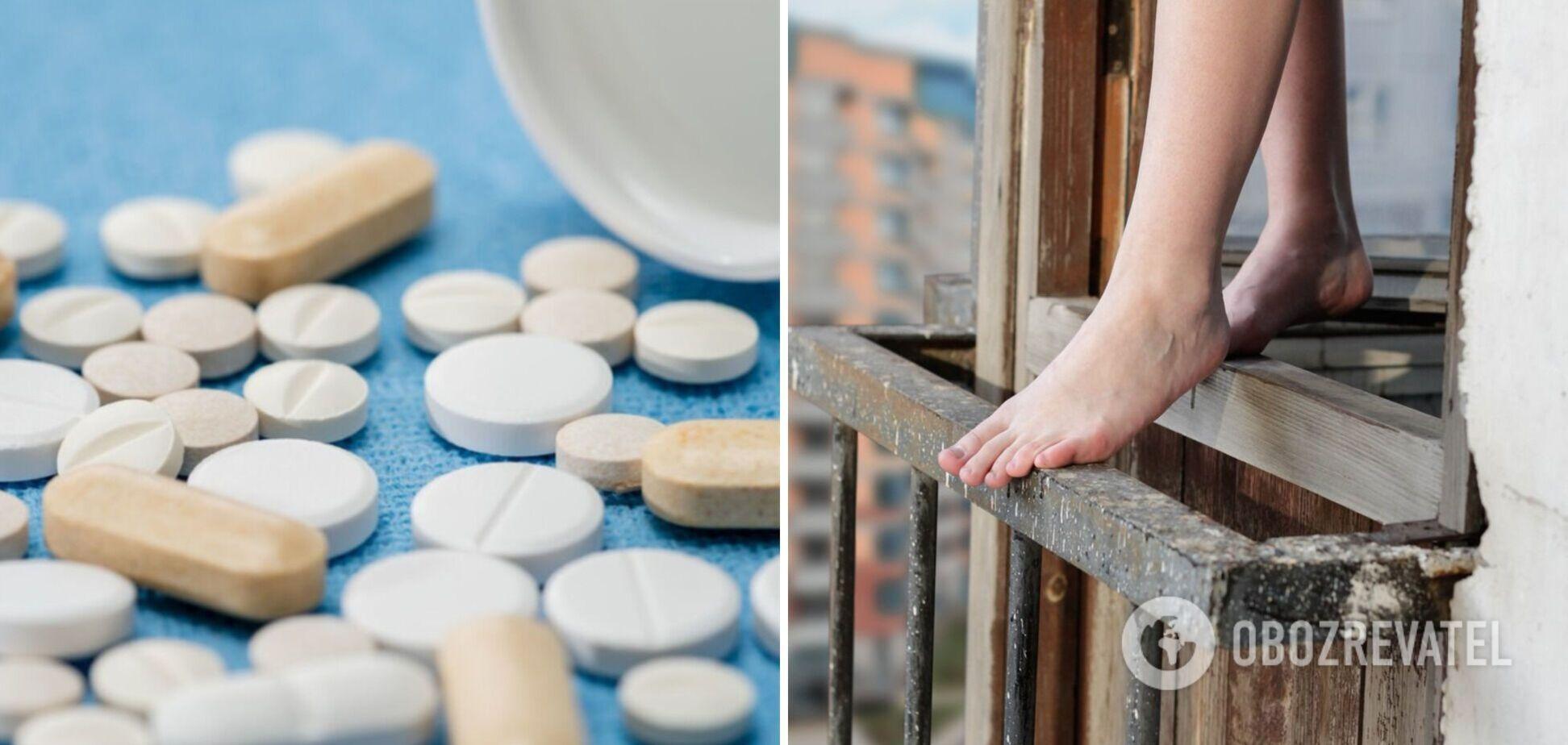 У Запоріжжі жінка напилася таблеток і викинулася з вікна: названо ймовірну причину трагедії
