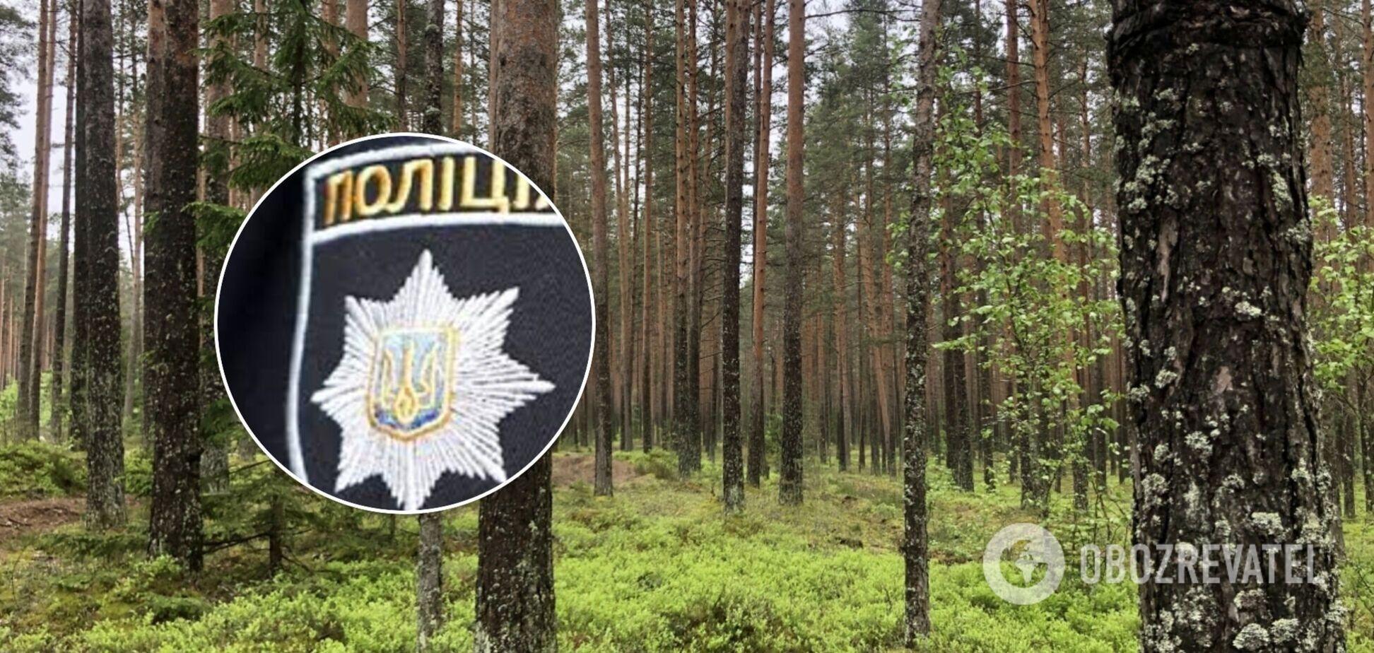 На Прикарпатті зниклого чоловіка знайшли мертвим у лісосмузі: в поліції розкрили деталі
