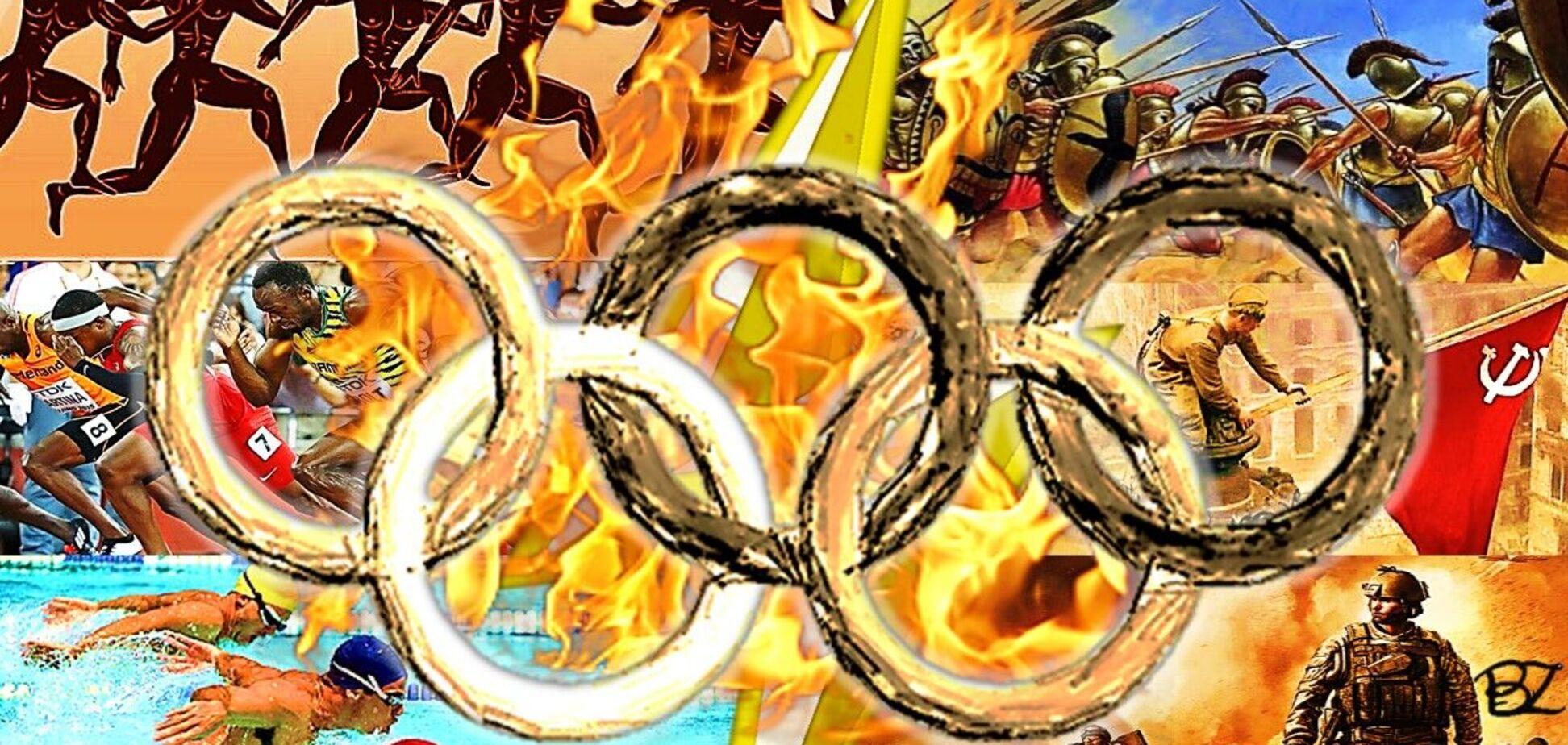 Еще раз об Олимпийских играх, или Спорт – это политика