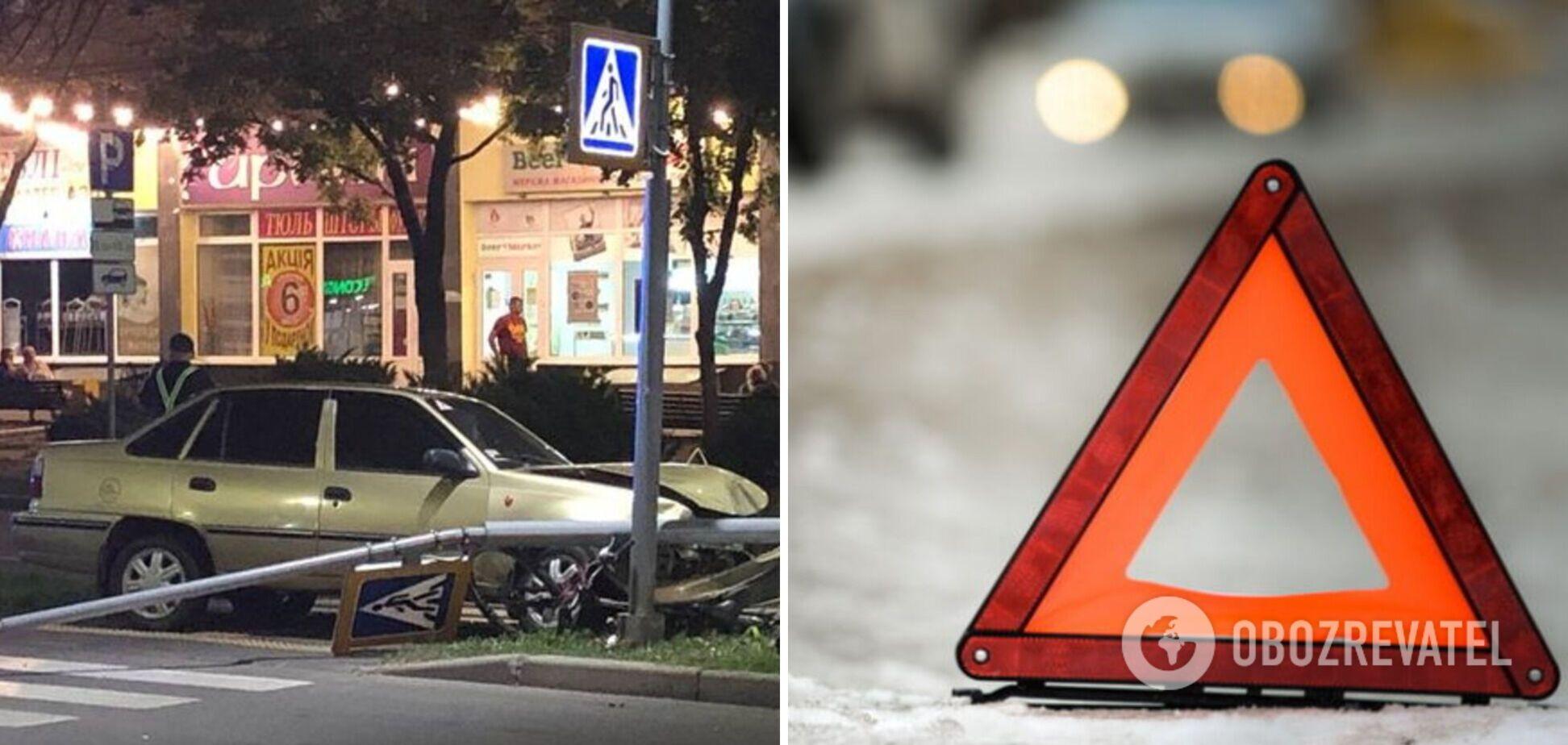 В Чернигове полицейского сбили на пешеходном переходе: мужчина умер на месте. Фото