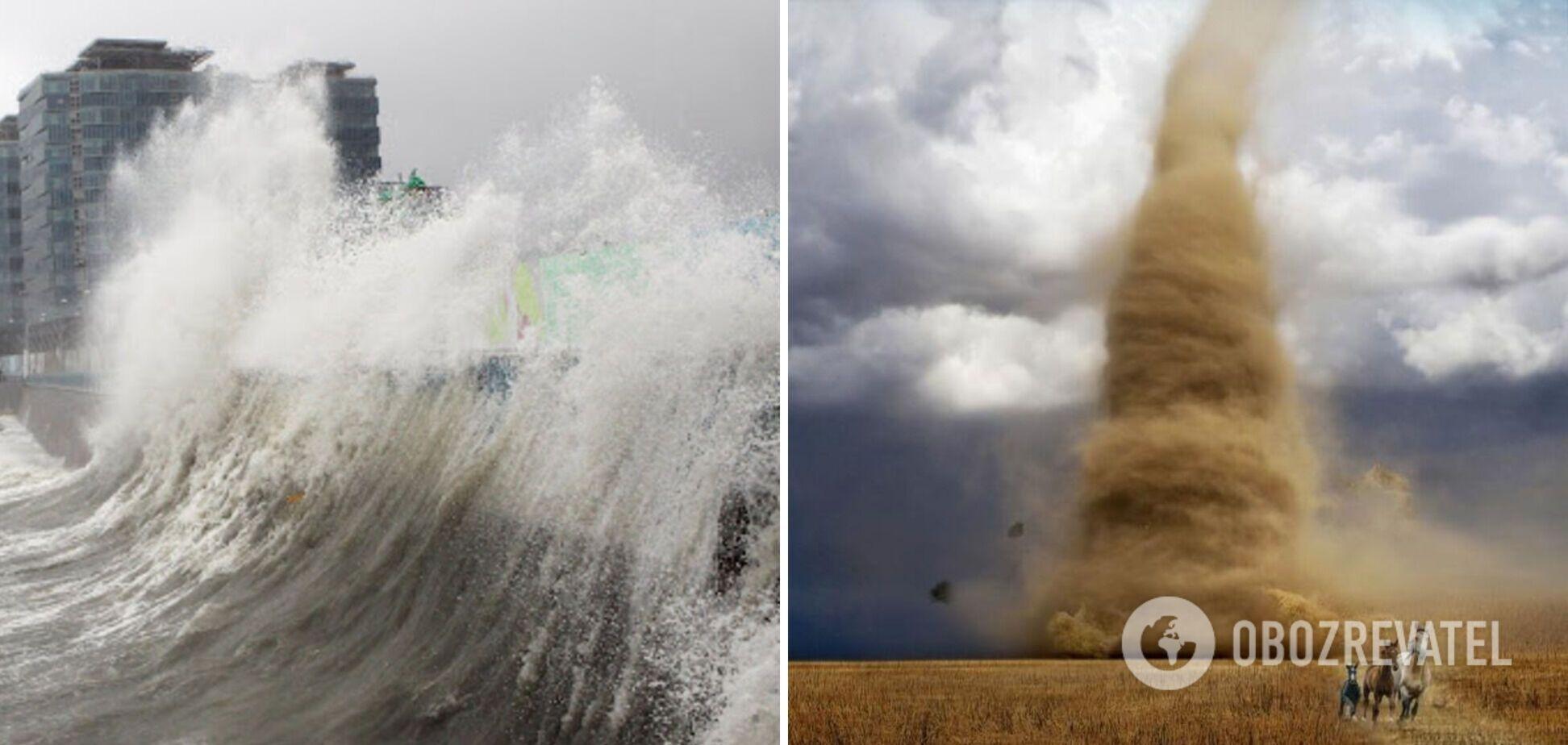 Повітря швидше витягає вологу з океанів і суші