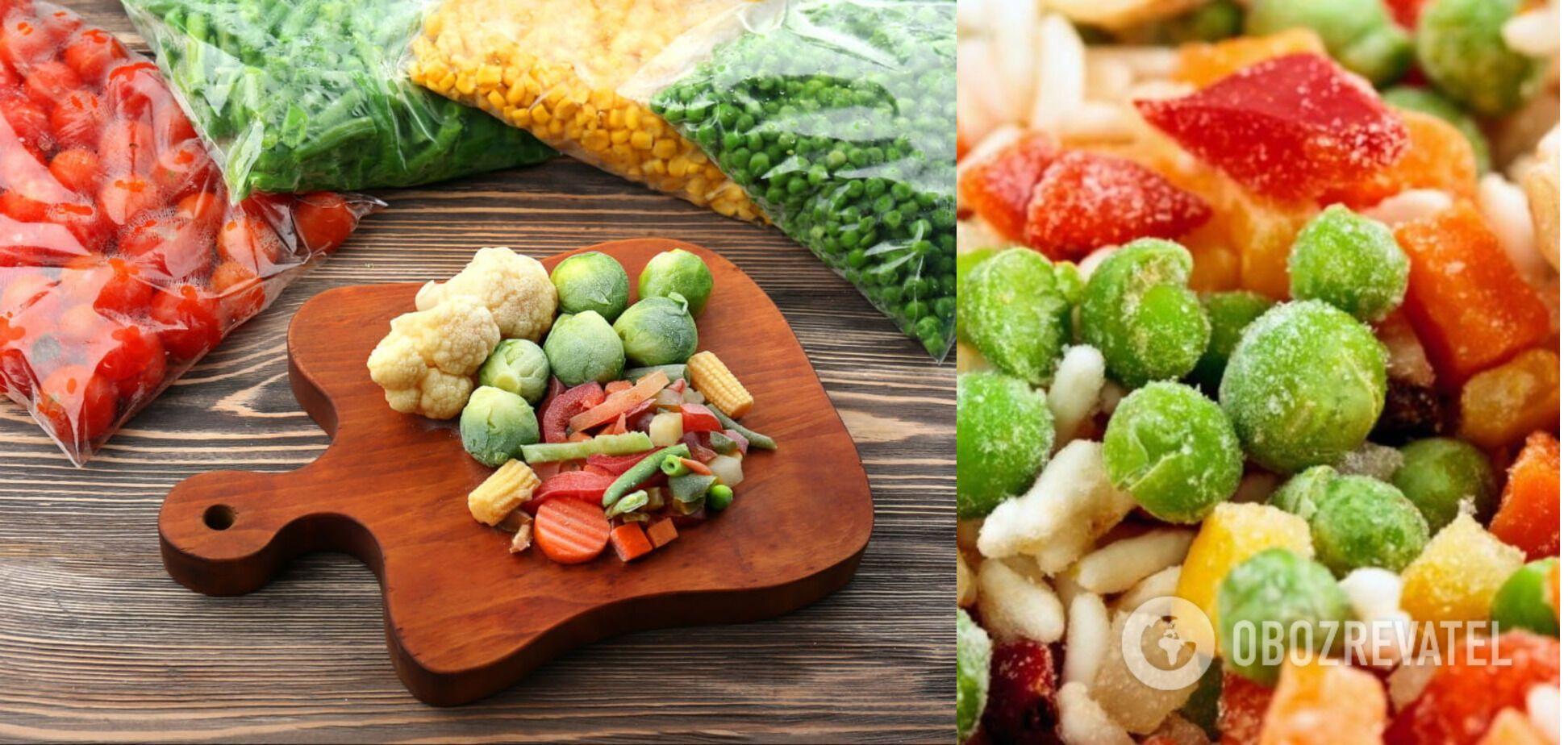 Вітаміни на зиму: як правильно заморозити овочі, щоб зберегти їх смак і корисність