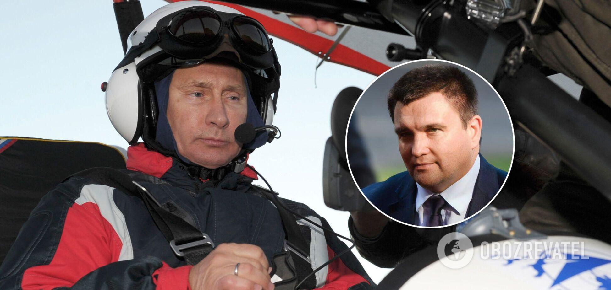 Путін планує розділ України, – Клімкін