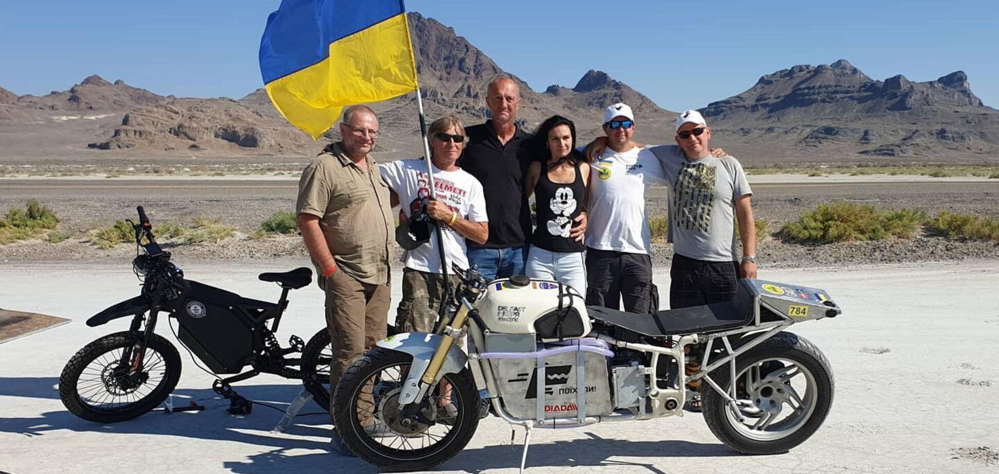 Українець встановив рекорд швидкості на Bonneville Speed Week