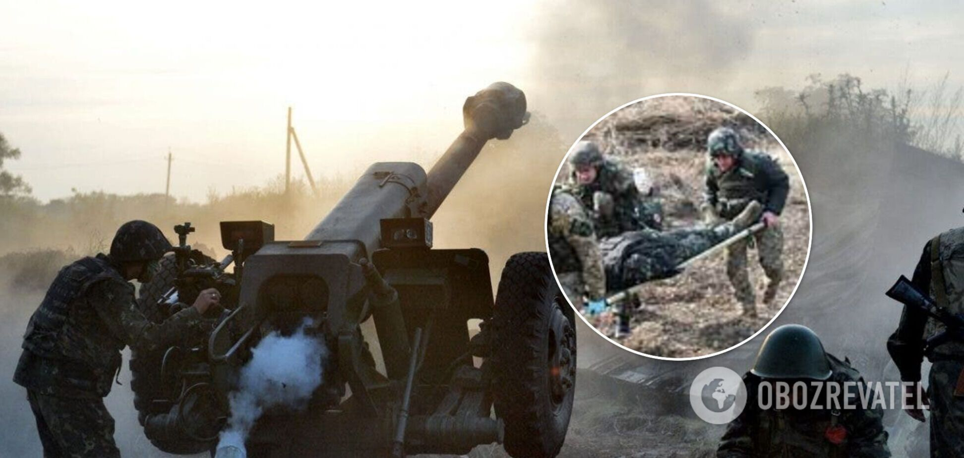 Наемники России накрыли ВСУ на Донбассе из тяжелой артиллерии, ранены двое бойцов