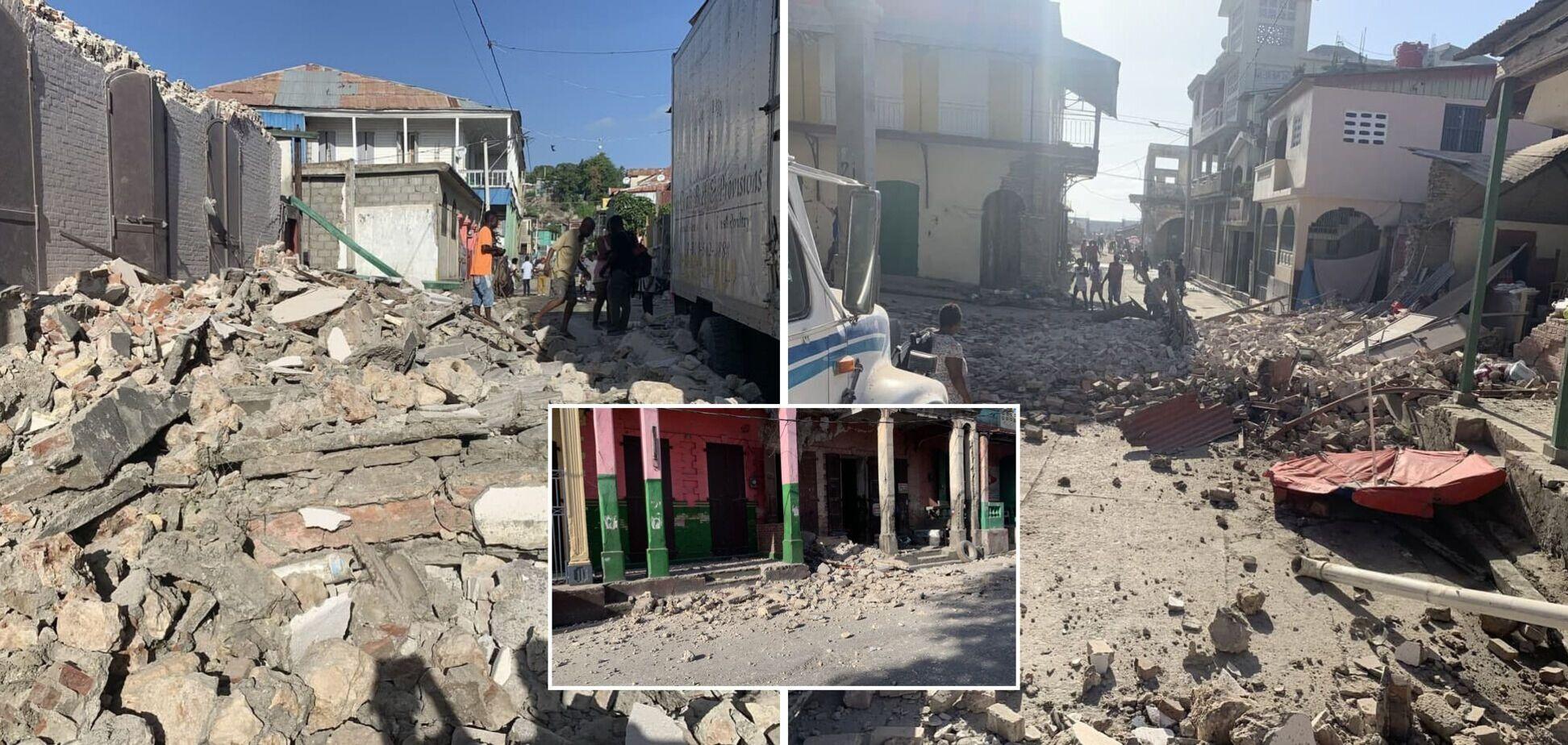 Землетрус на Гаїті призвів до руйнувань