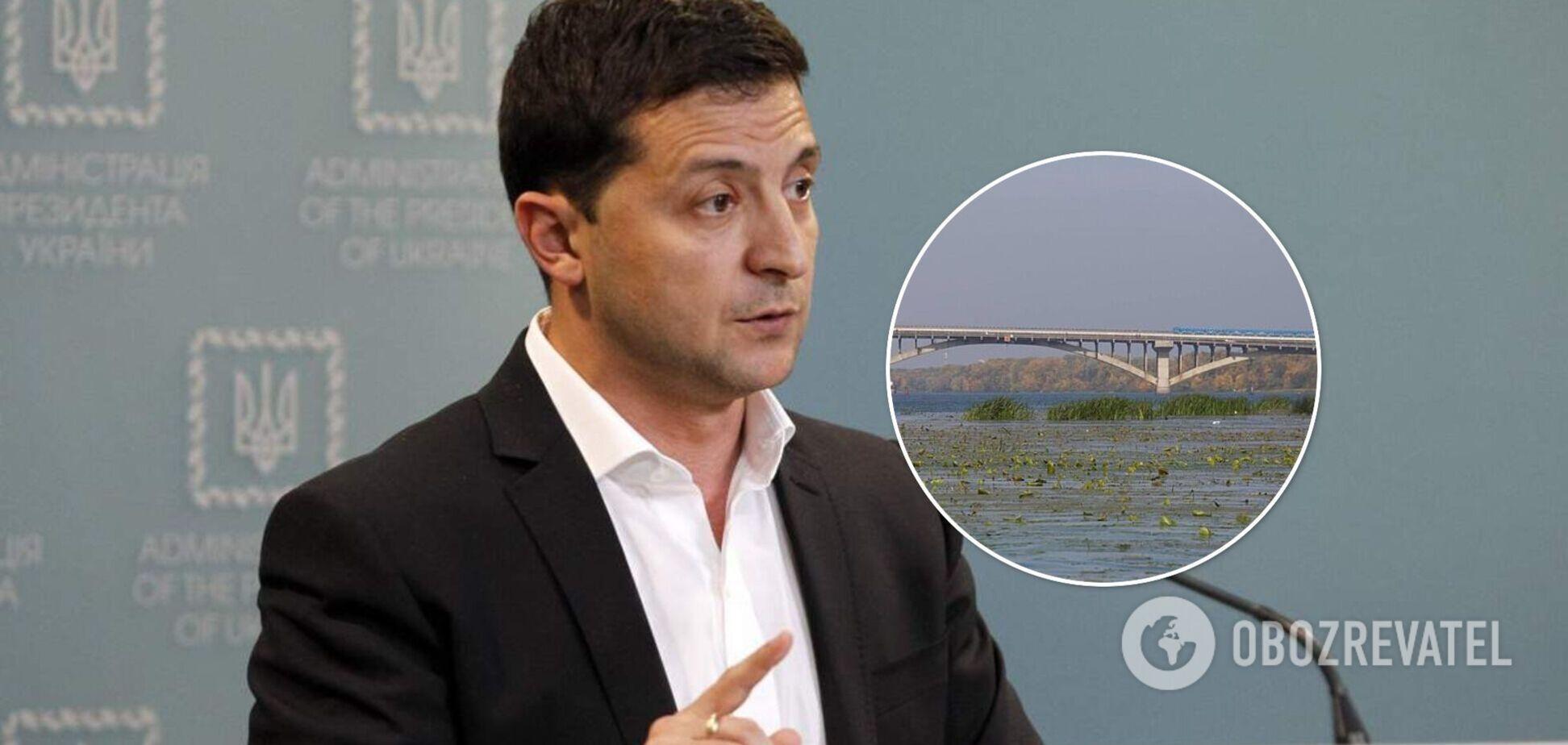 Зеленский ввел в действие решение СНБО о водных ресурсах. Полный документ