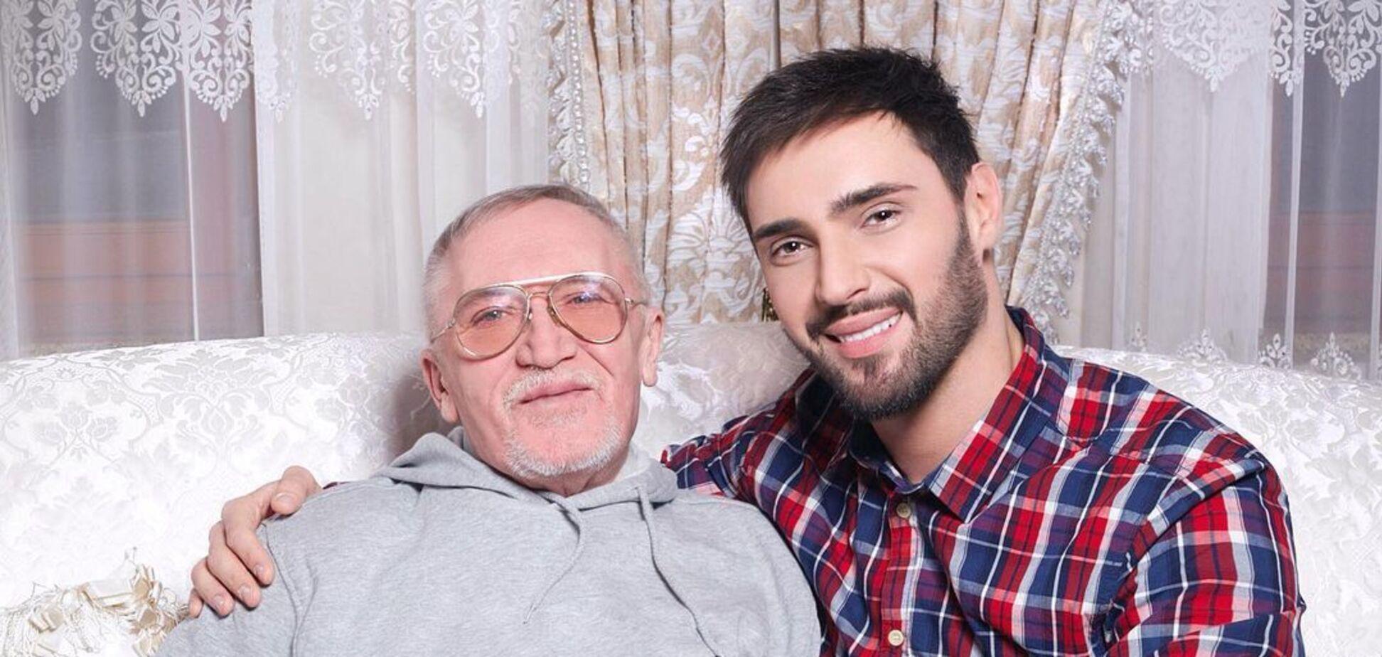 Виталий Козловский сообщил о смерти отца. Фото