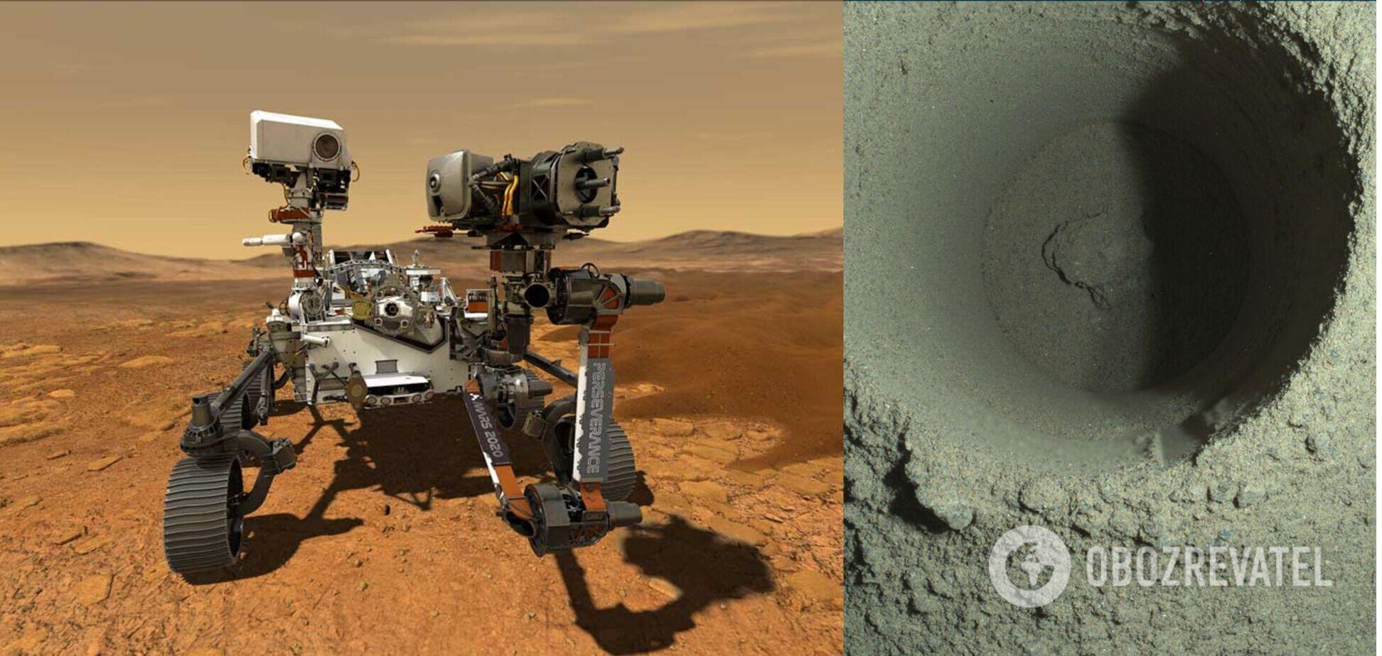 Perseverance не смог взять образец грунта на Марсе: названа причина. Фото