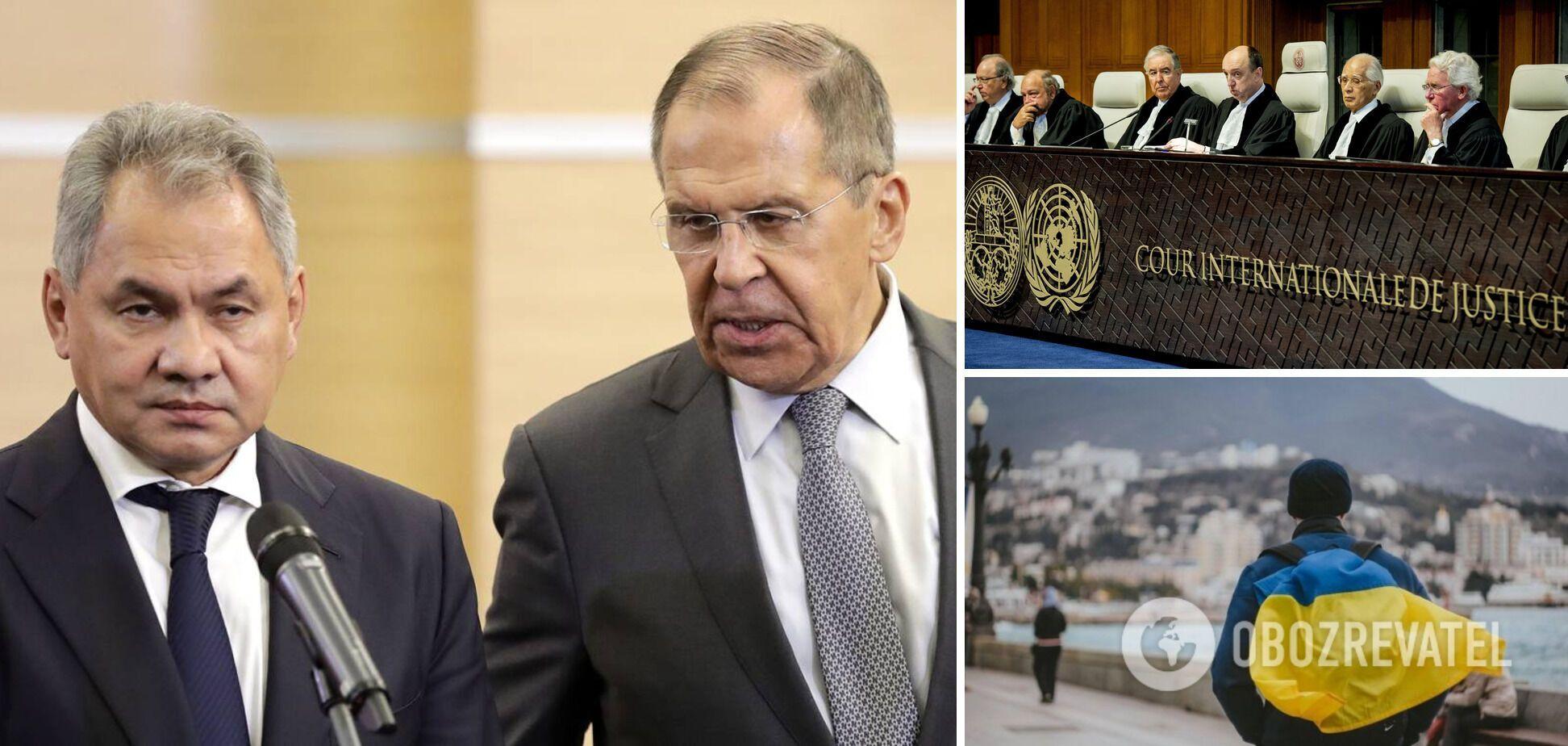 На Лаврові Крим горить