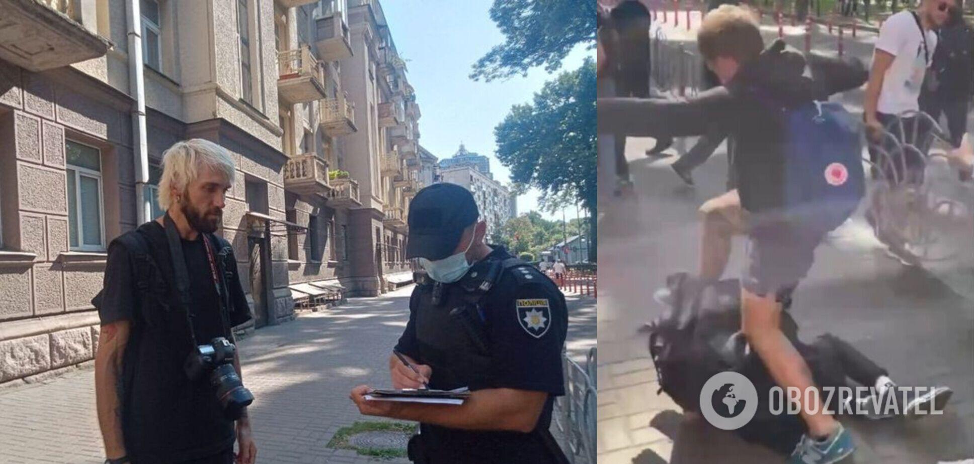 Вибачення не допомогли: поліція сказала, що буде з прихильниками 'Нацкорпусу', які побили журналіста