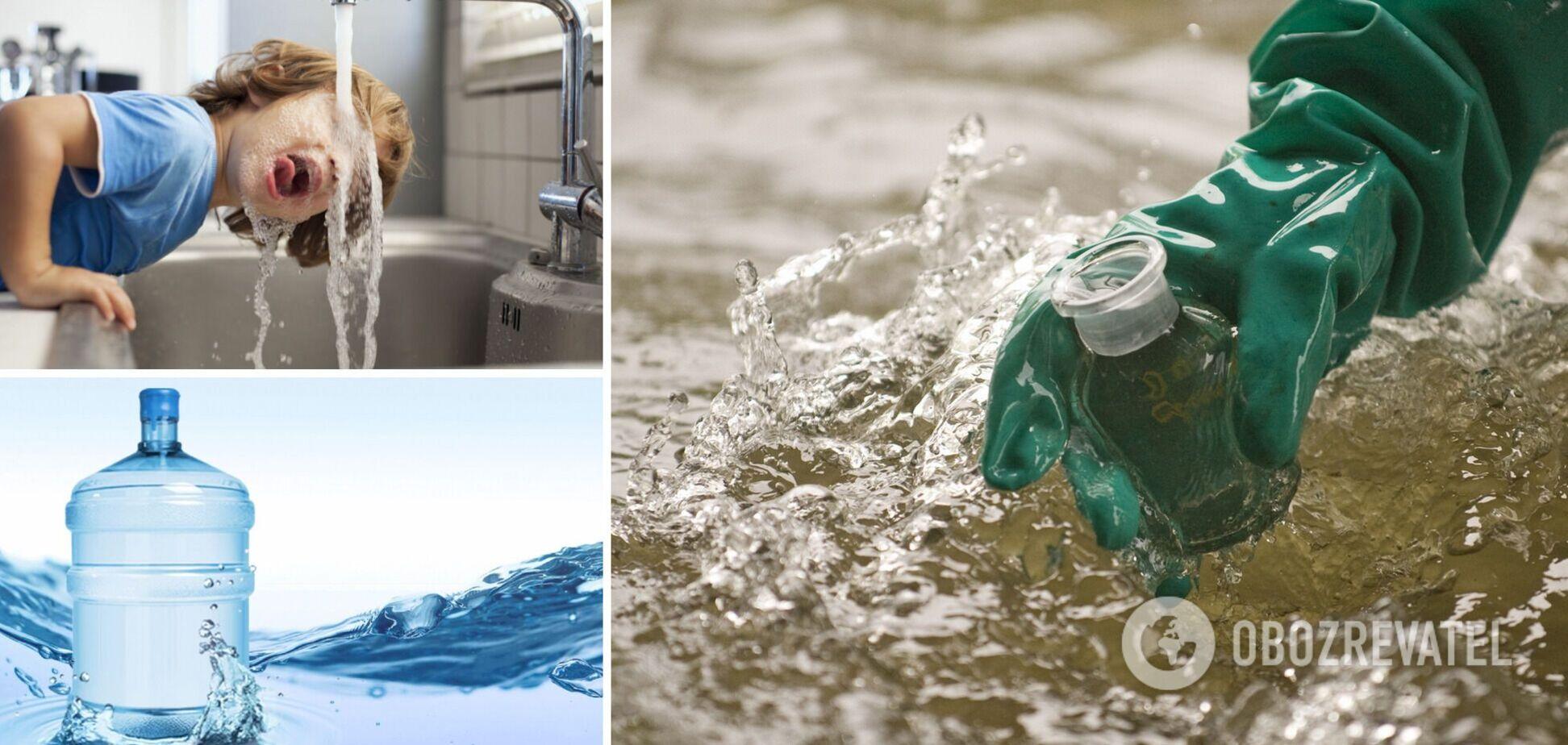 В Україні 90% води не відповідають заявленій якості: експерт вказав на проблеми