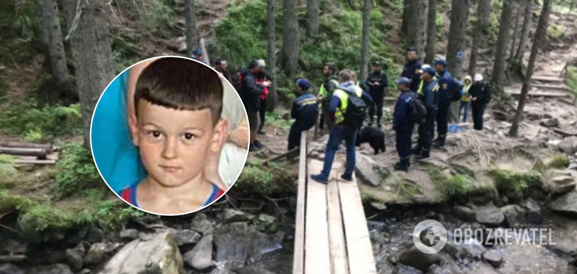 На Говерлі другу добу шукають 6-річну дитину: рятувальники розповіли подробиці