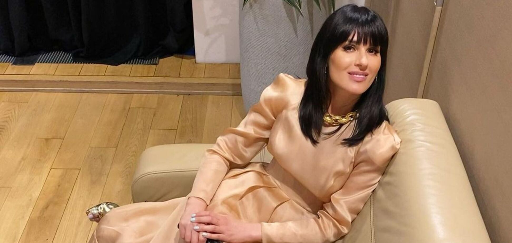 Маша Ефросинина засветилась в платье украинского бренда за 14 тысяч гривен. Фото