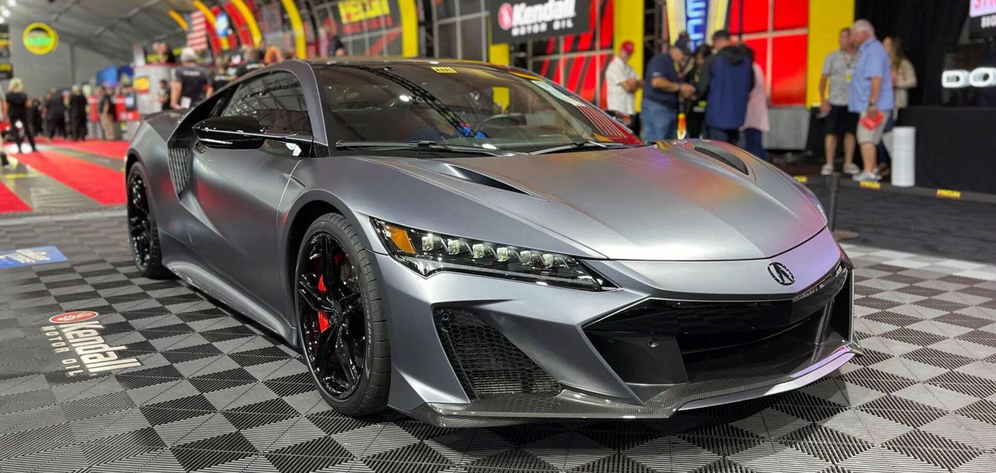 Acura NSX Type S продали на аукціоні за рекордні $1,1 млн