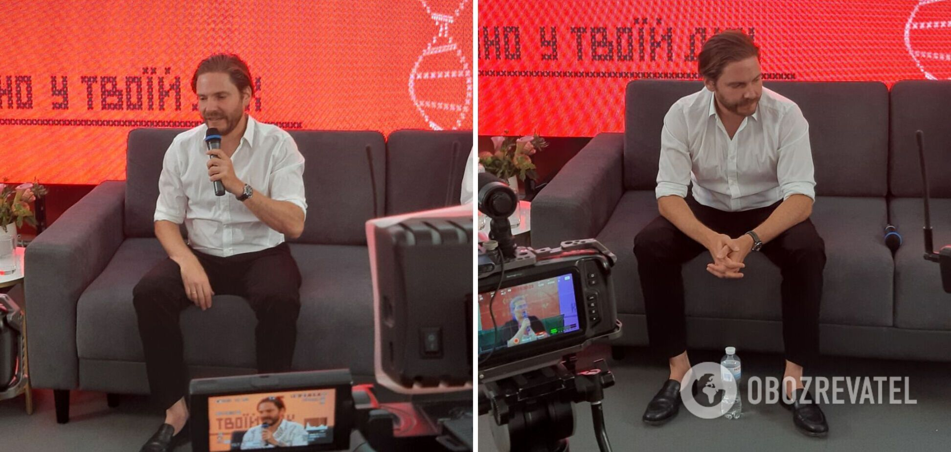 Звезда 'Мстителей' Даниэль Брюль – о съемках в Украине: я готов